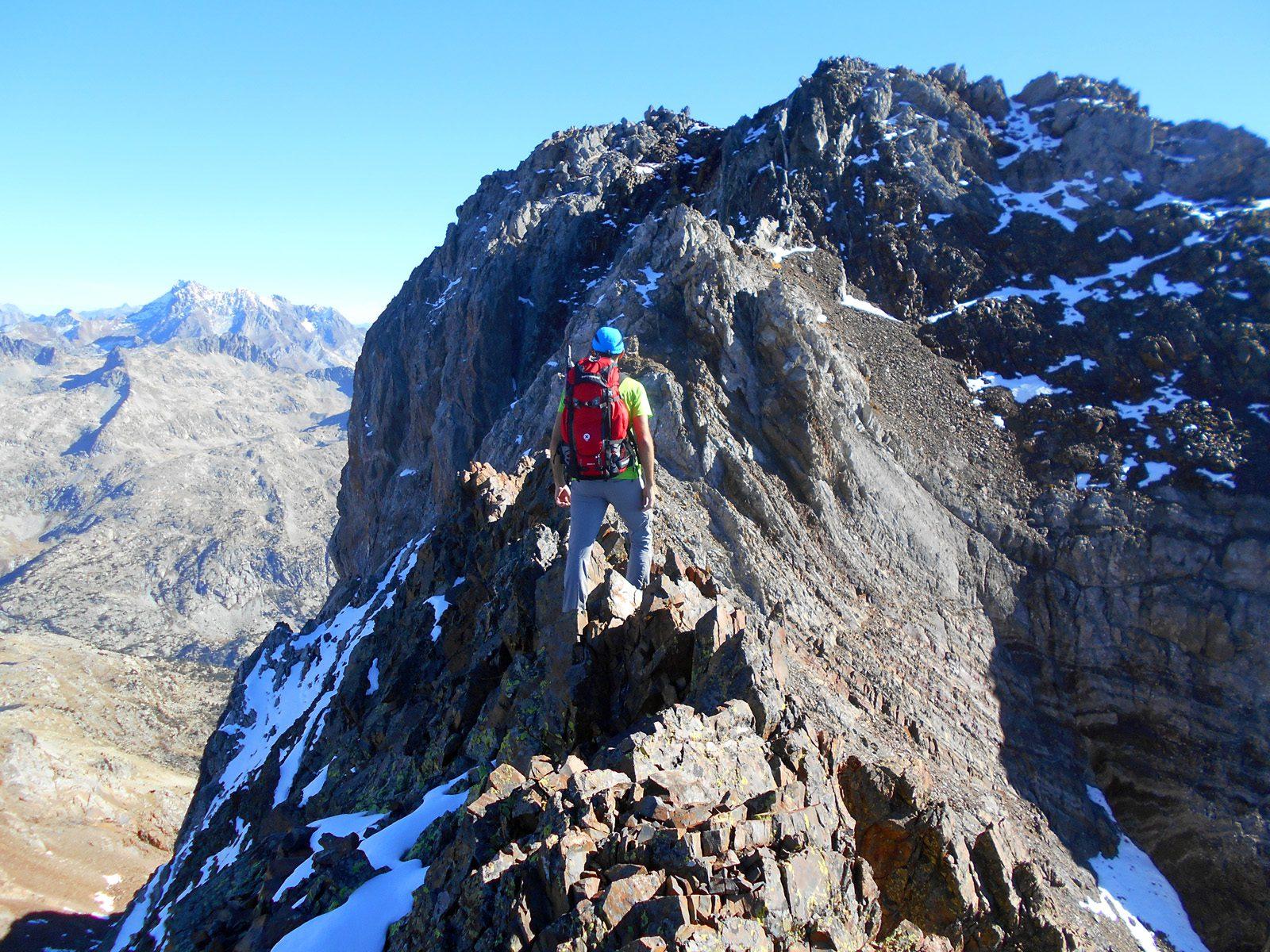Ascensiones a tresmiles en Panticosa, Pirineos. Garmo Negro y Gran Facha