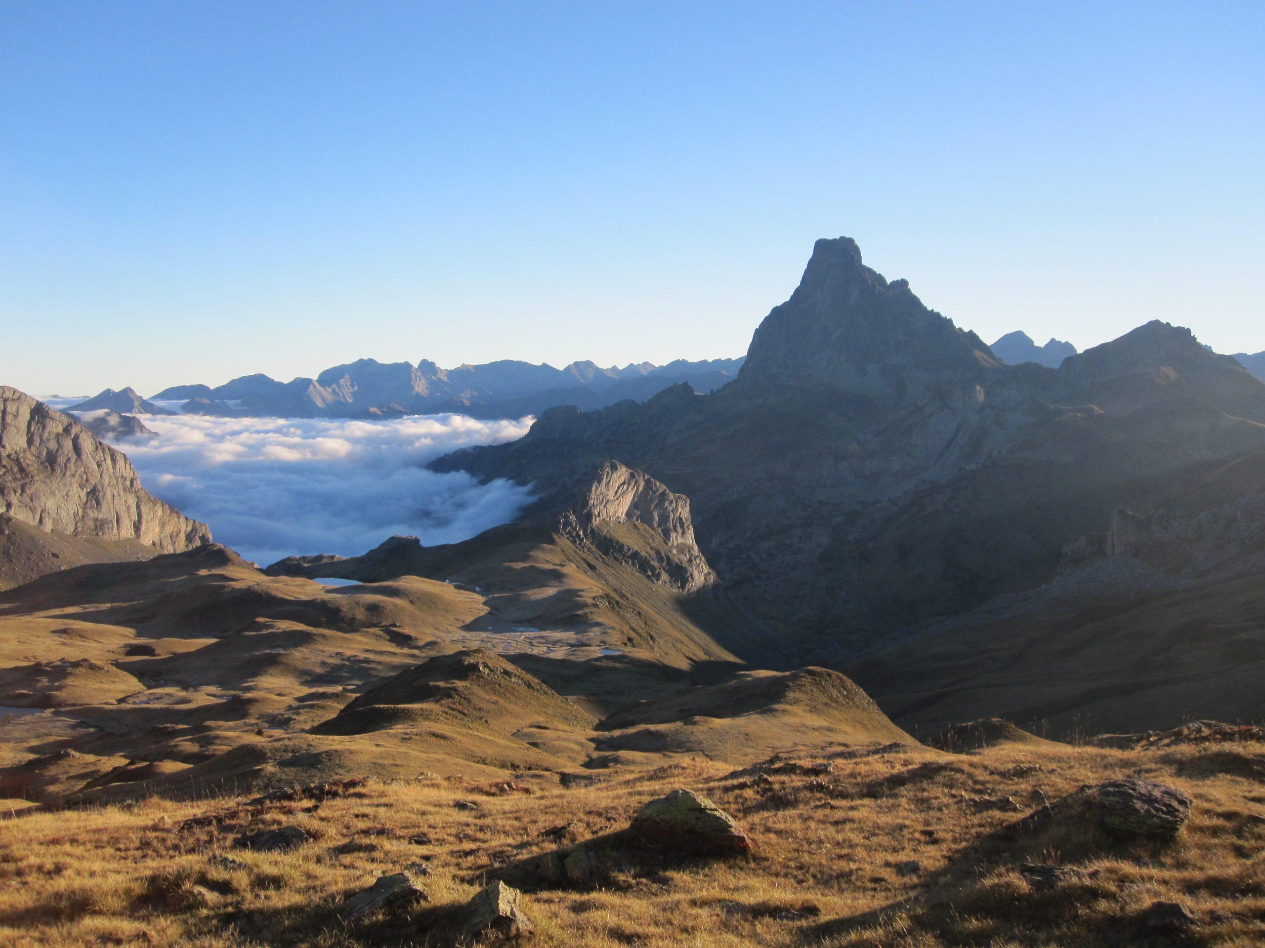 Trekking del Midi d´Ossau. Pirineo francés