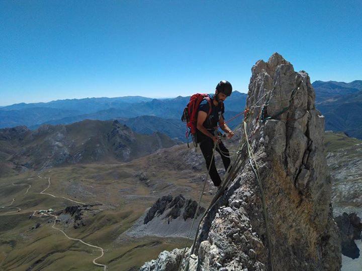 Escaladas en los Picos de Europa. Peña Santa y Peña Vieja