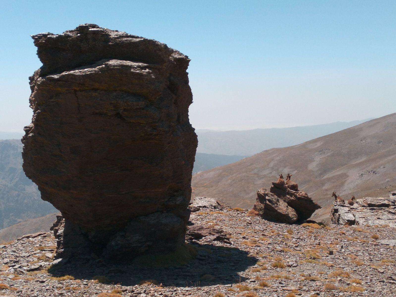 Ascensiones otoñales en Sierra Nevada. Picón de Jerez, Cerro del Mirador y Chullo.