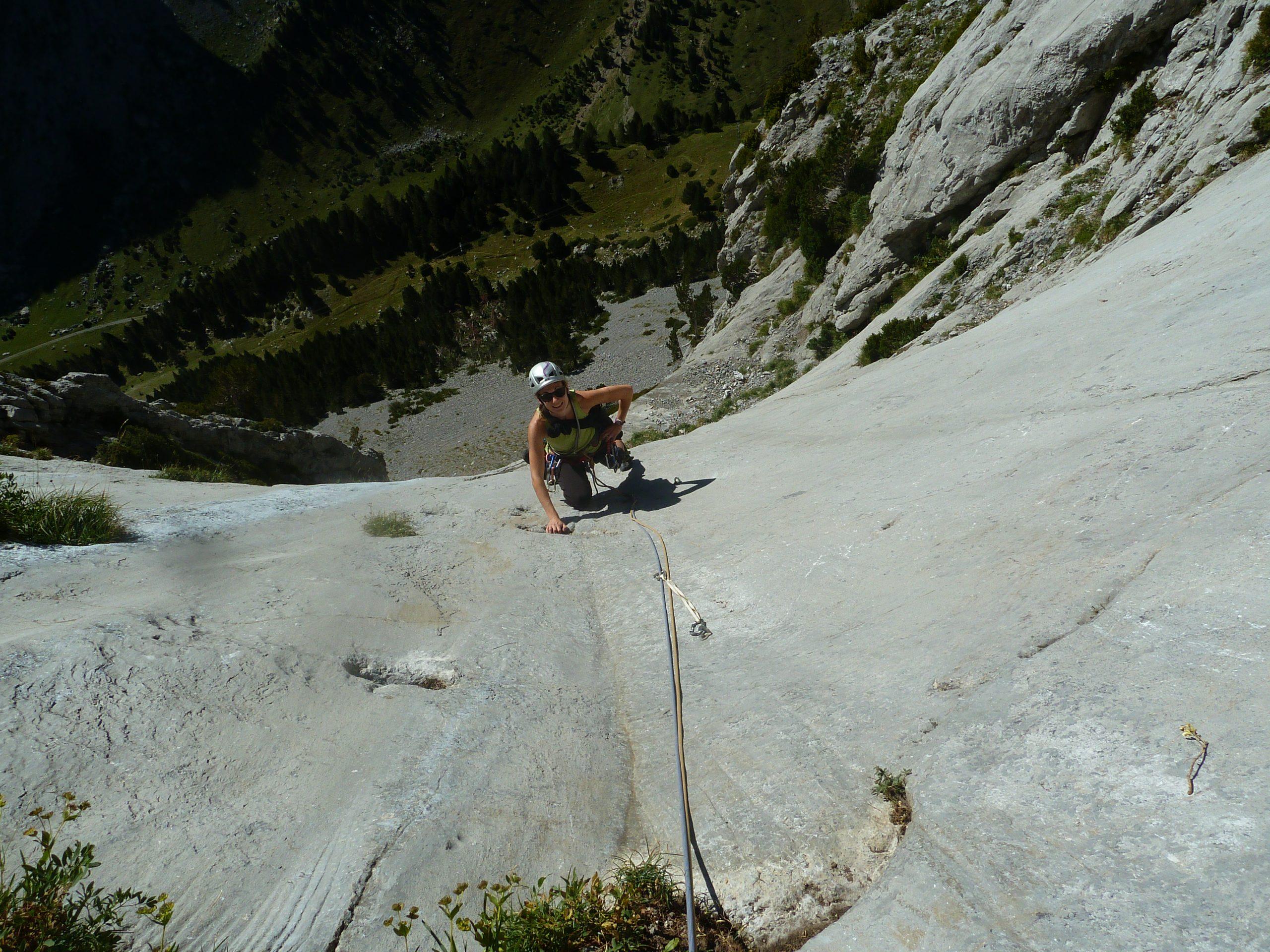 Escalada en Canfranc y Valle del Tena. Valle de Canfranc al Tobazo y Valle de Tena a la Peña Foratata