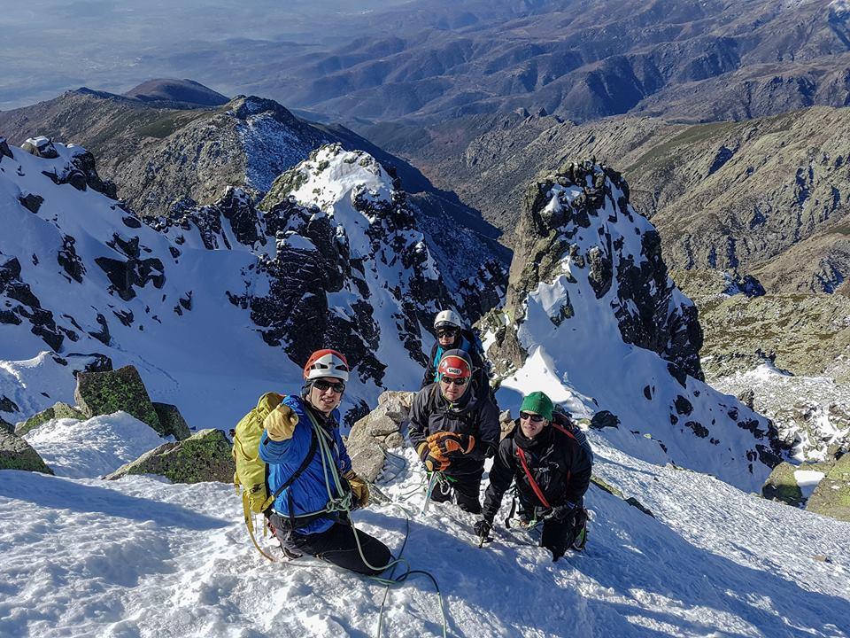 Curso de Alpinismo. Nivel 1 (Iniciación), Sierra de Gredos