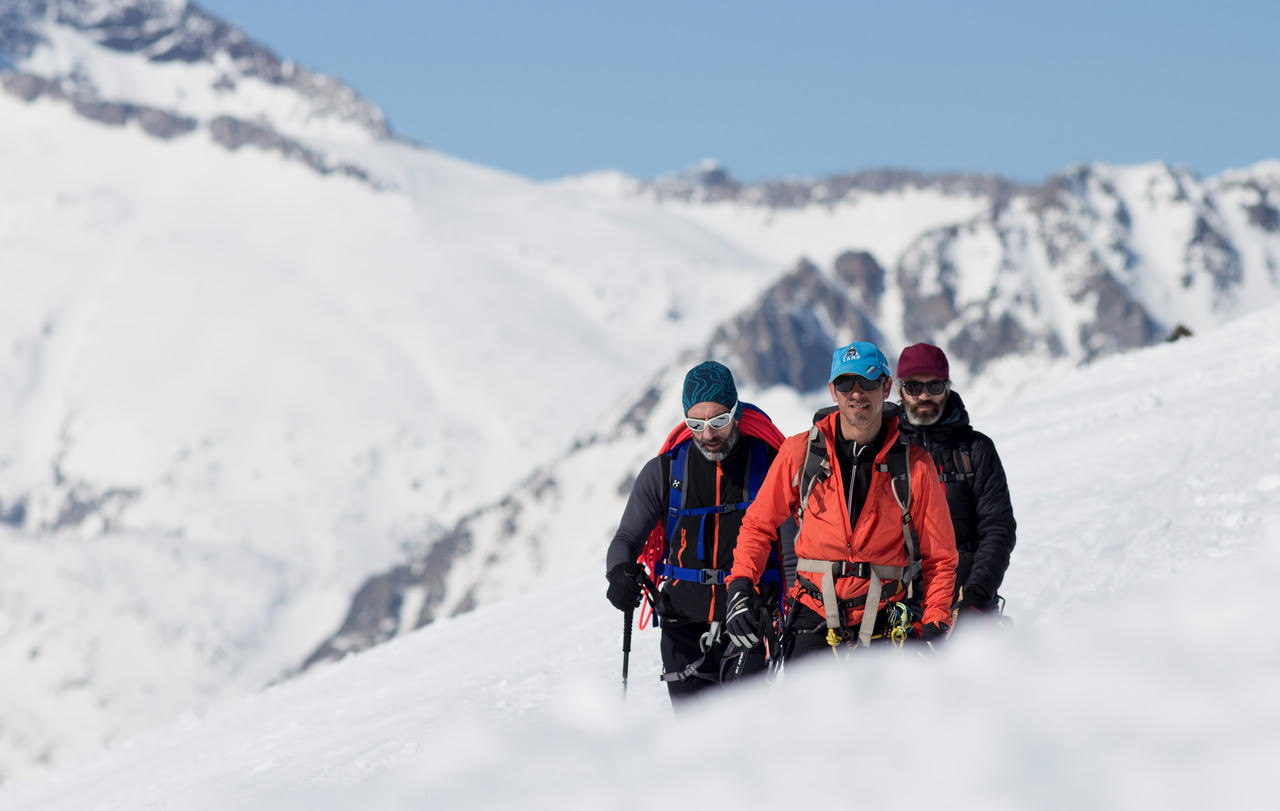 Curso de Alpinismo. Nivel 1 (Iniciación), Sierra de Guadarrama