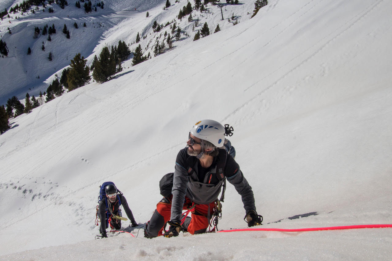 Curso de Alpinismo. Nivel 1 (Iniciación), Sierra Nevada