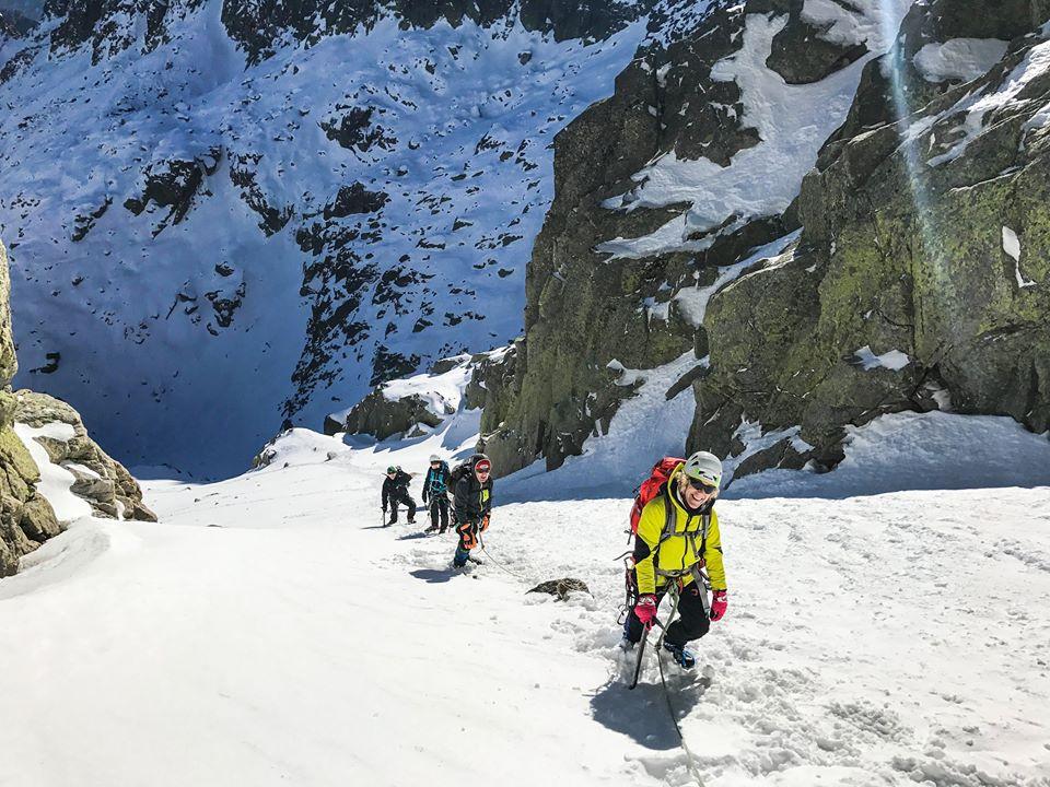 Curso de Alpinismo. Nivel 2 (Avanzado), Sierra de Gredos