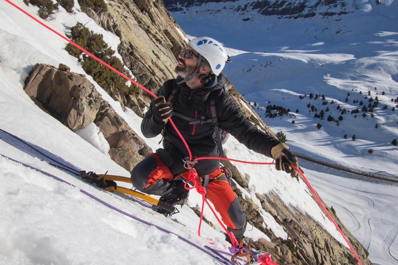 Curso de Alpinismo. Nivel 2 (Avanzado), Sierra de Guadarrama