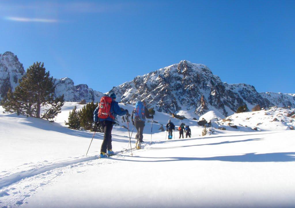 Curso de esquí de montaña en Andorra. Nivel 1 (iniciación)-3 días