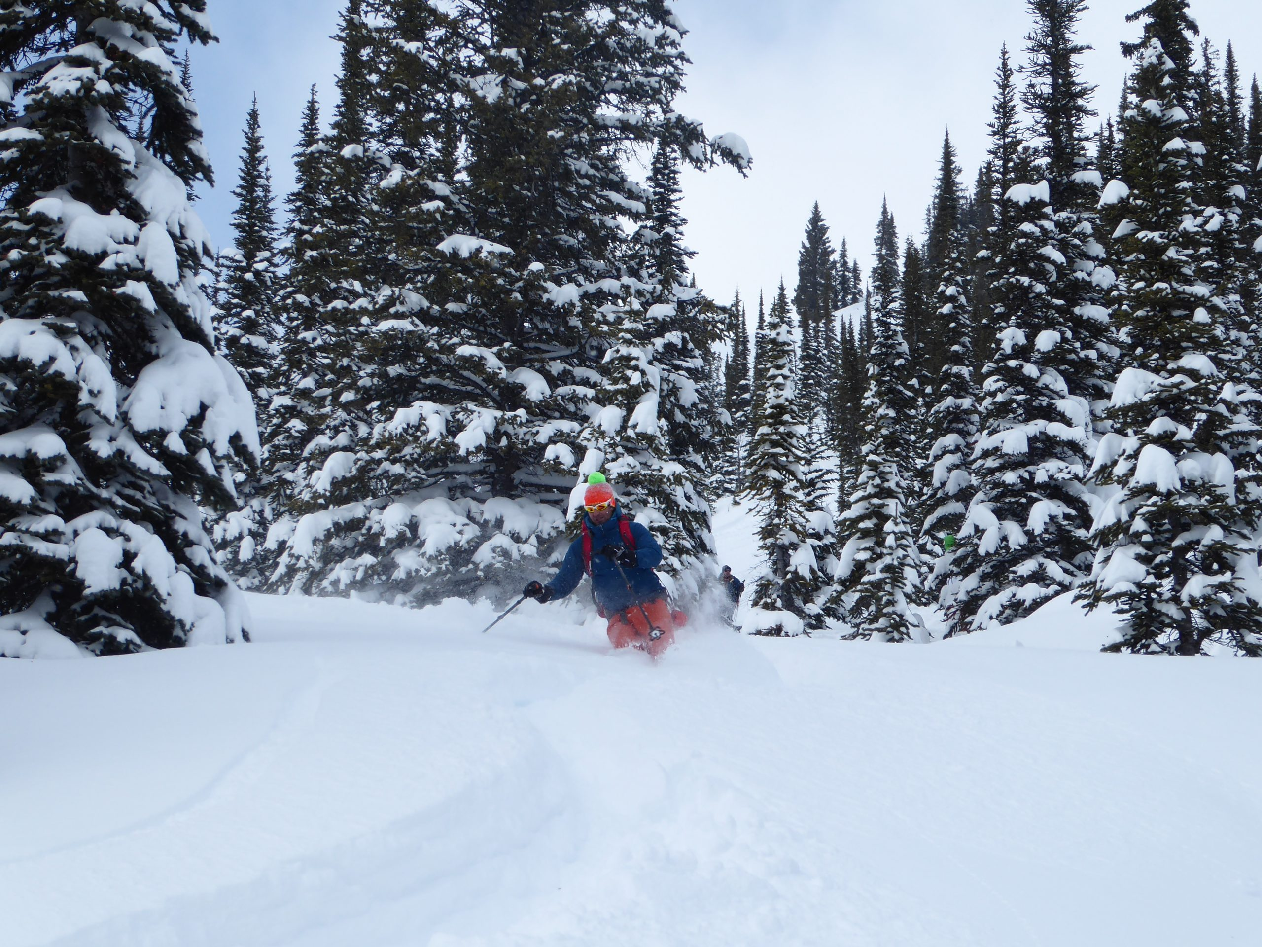 Curso de Esquí Freeride. Sistema Central. Fundamentos básicos para el esquí fuera de pista y de montaña.