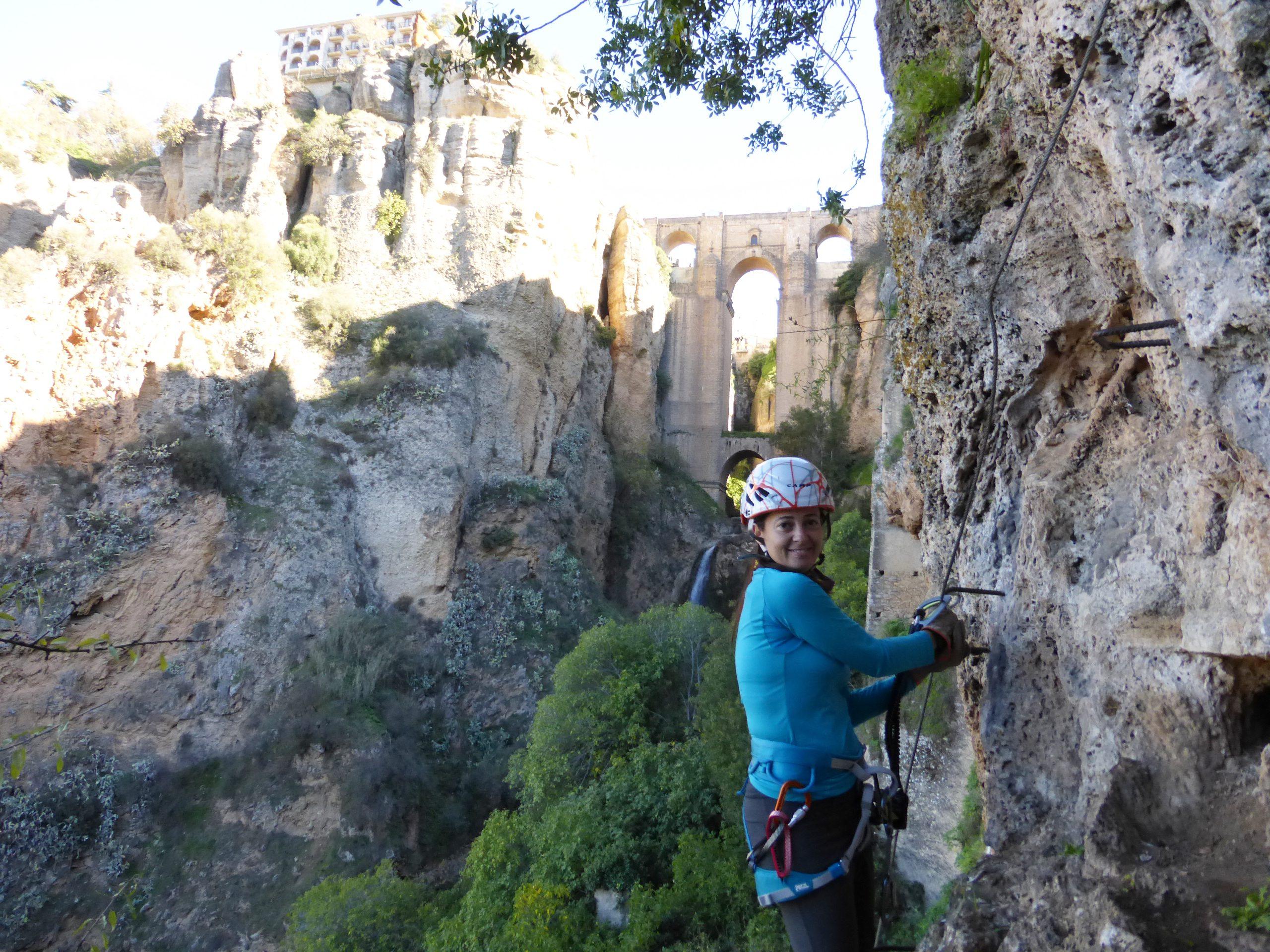 Ferratas, senderismo y tapas en Ronda. Serranía de Ronda