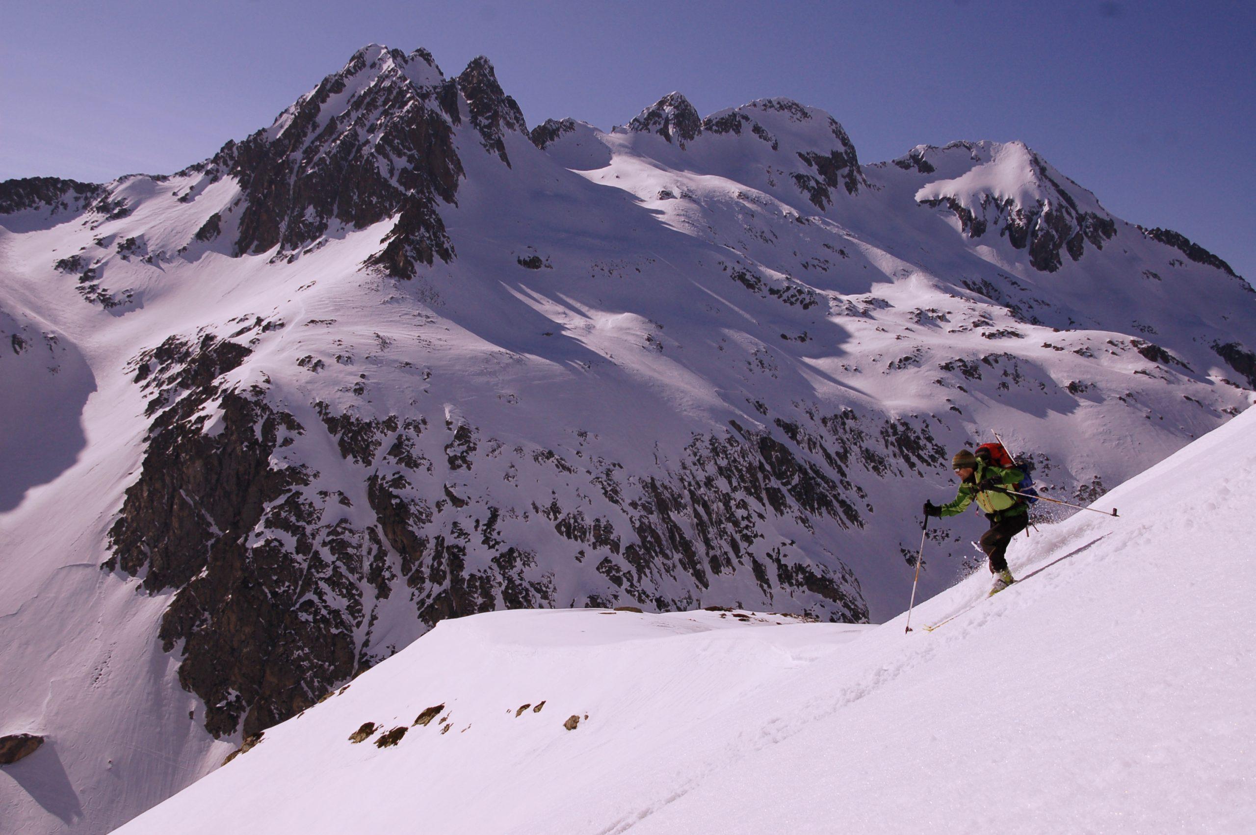 Vignemale. Esquí de montaña