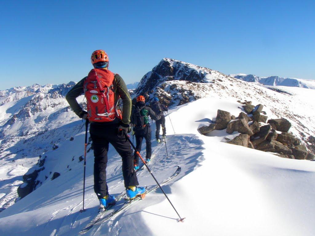 Andorra. Esquí de montaña en los Pirineos