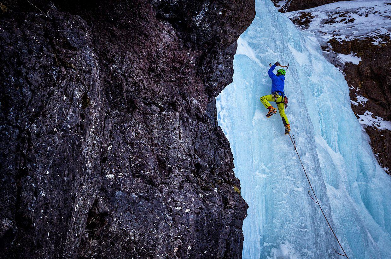 Escalada en Hielo en Rjukan. Telemark, Noruega