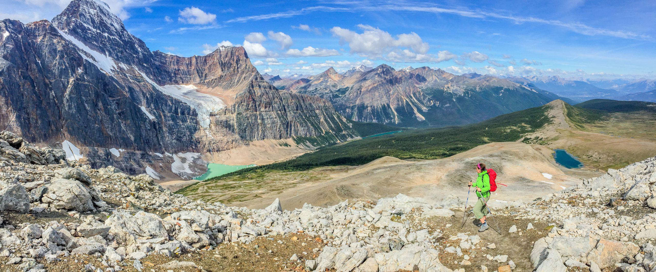 Rocosas canadienses, colores de otoño. Senderismo y trekking en Banff, Yoho y Jasper