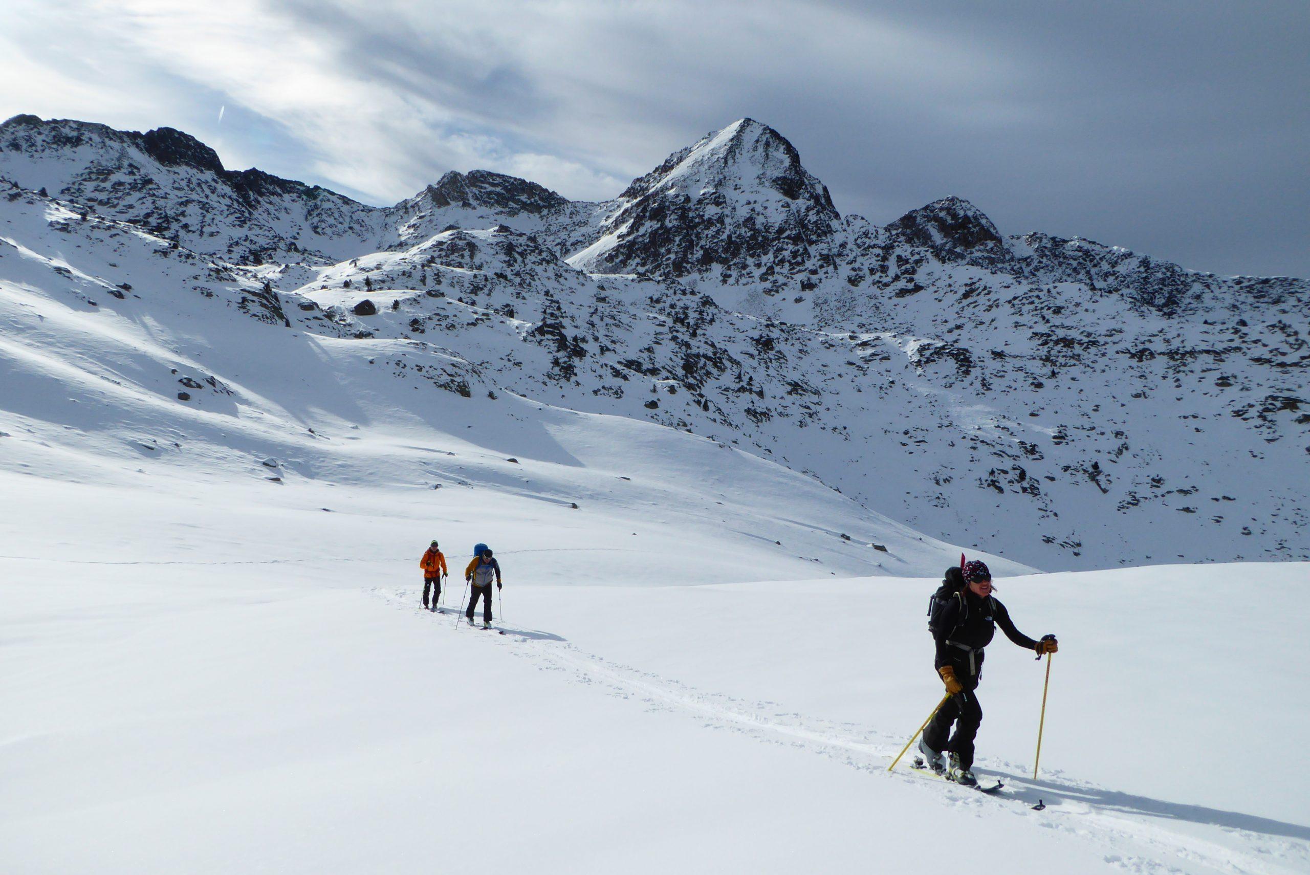 Valle de Arán, Pirineos. Recorridos de Esquí de Montaña