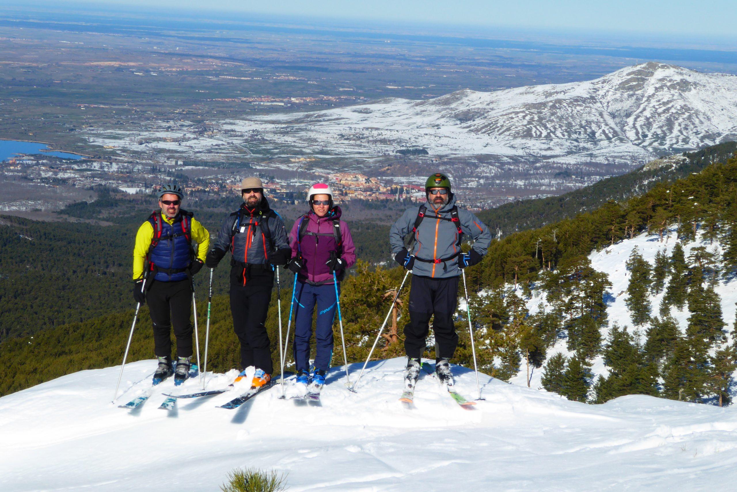 Curso de esquí de montaña. Nivel 2  (Avanzado)-Sierra de Guadarrama