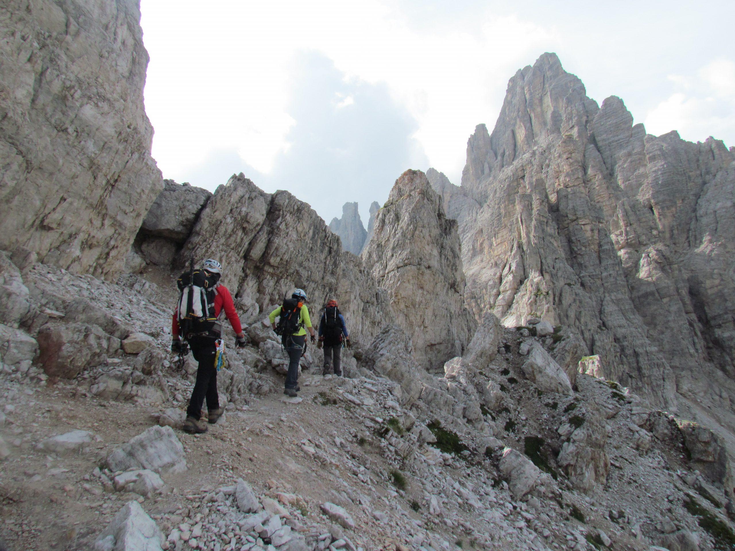 Dolomitas.Marmolada. Ferratas y trekking en los Alpes Italianos