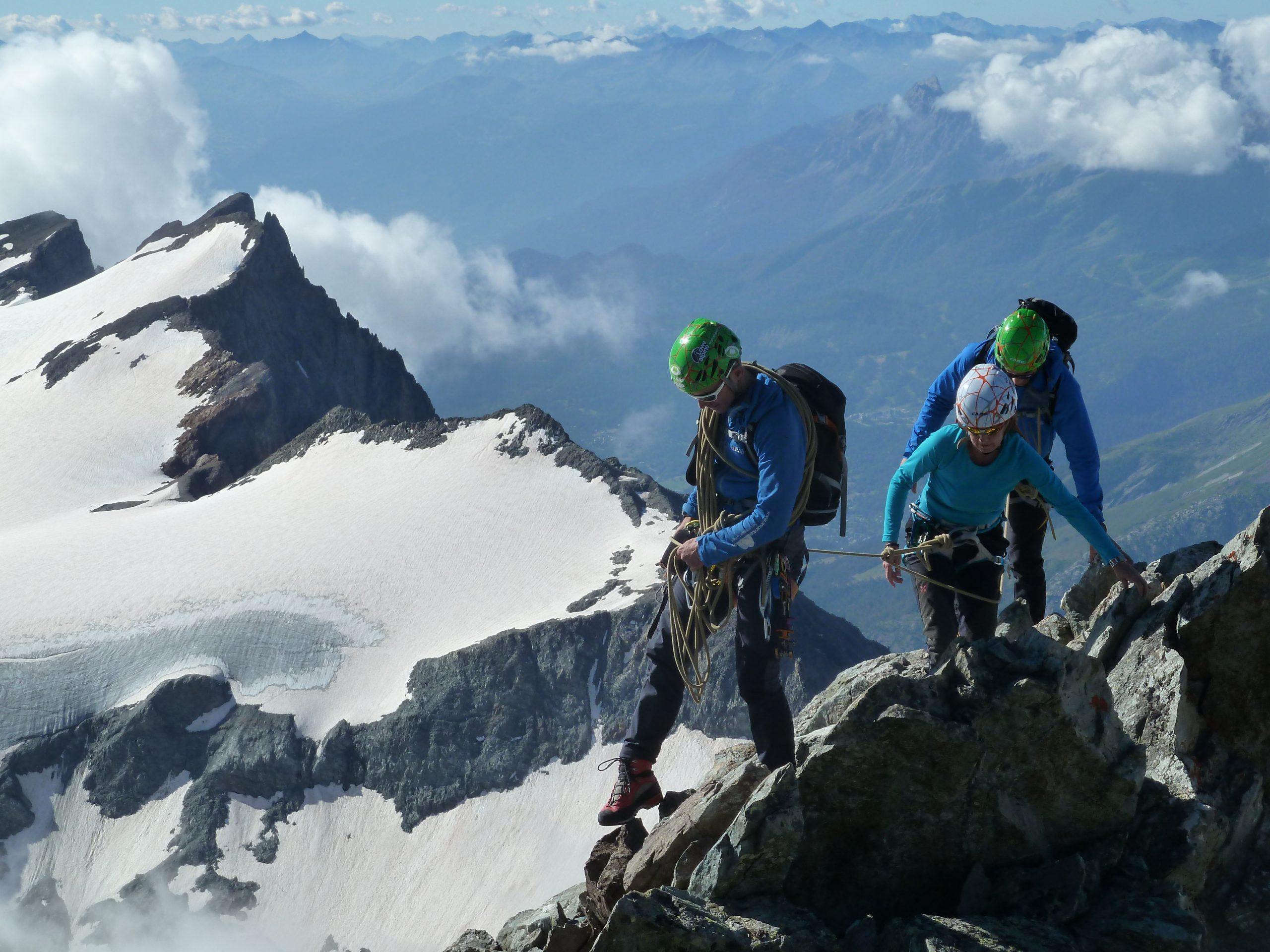 Ecrins, alpinismo fácil en los Alpes