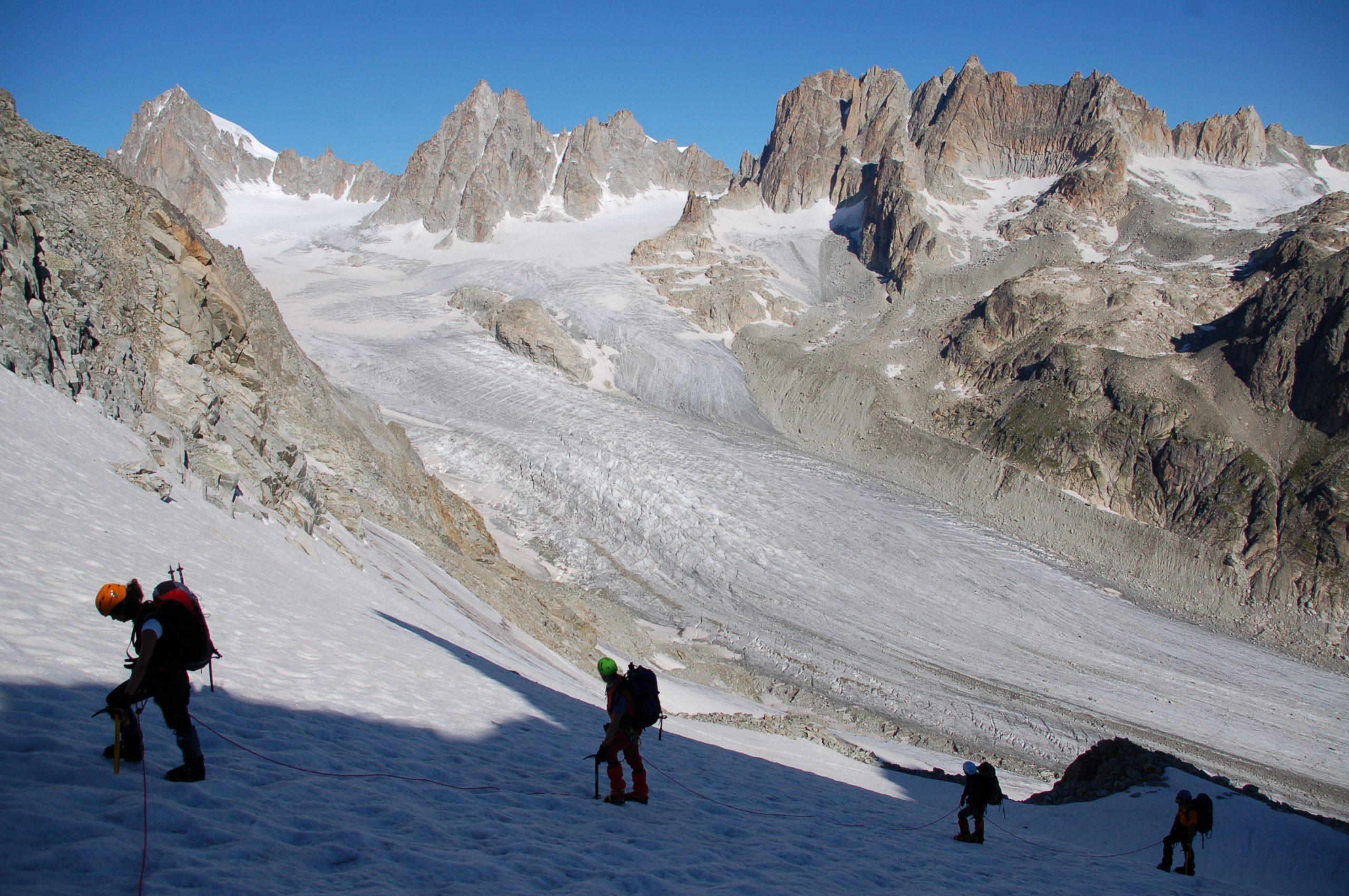 Mont Blanc. Alta Ruta de los Glaciares