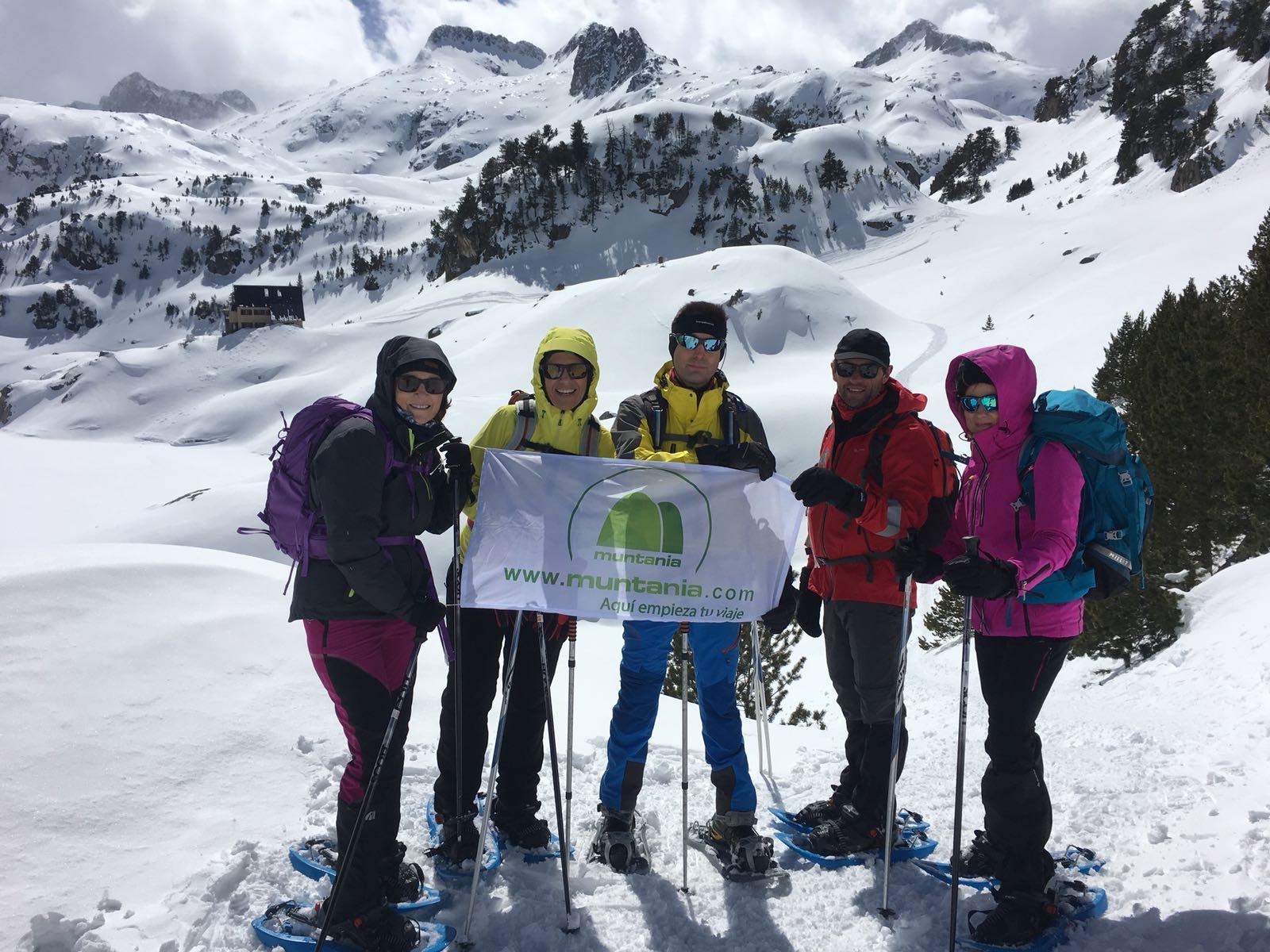 Ascensiones con raquetas de nieve en el Vall d´Arán
