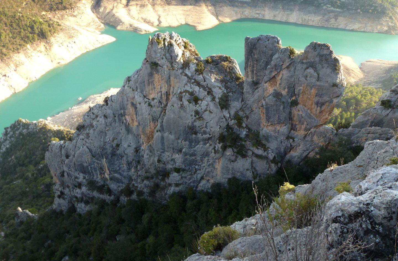Crestas del Pirineo. Urquiza-Olmo de Montrebei y Sant Salvador