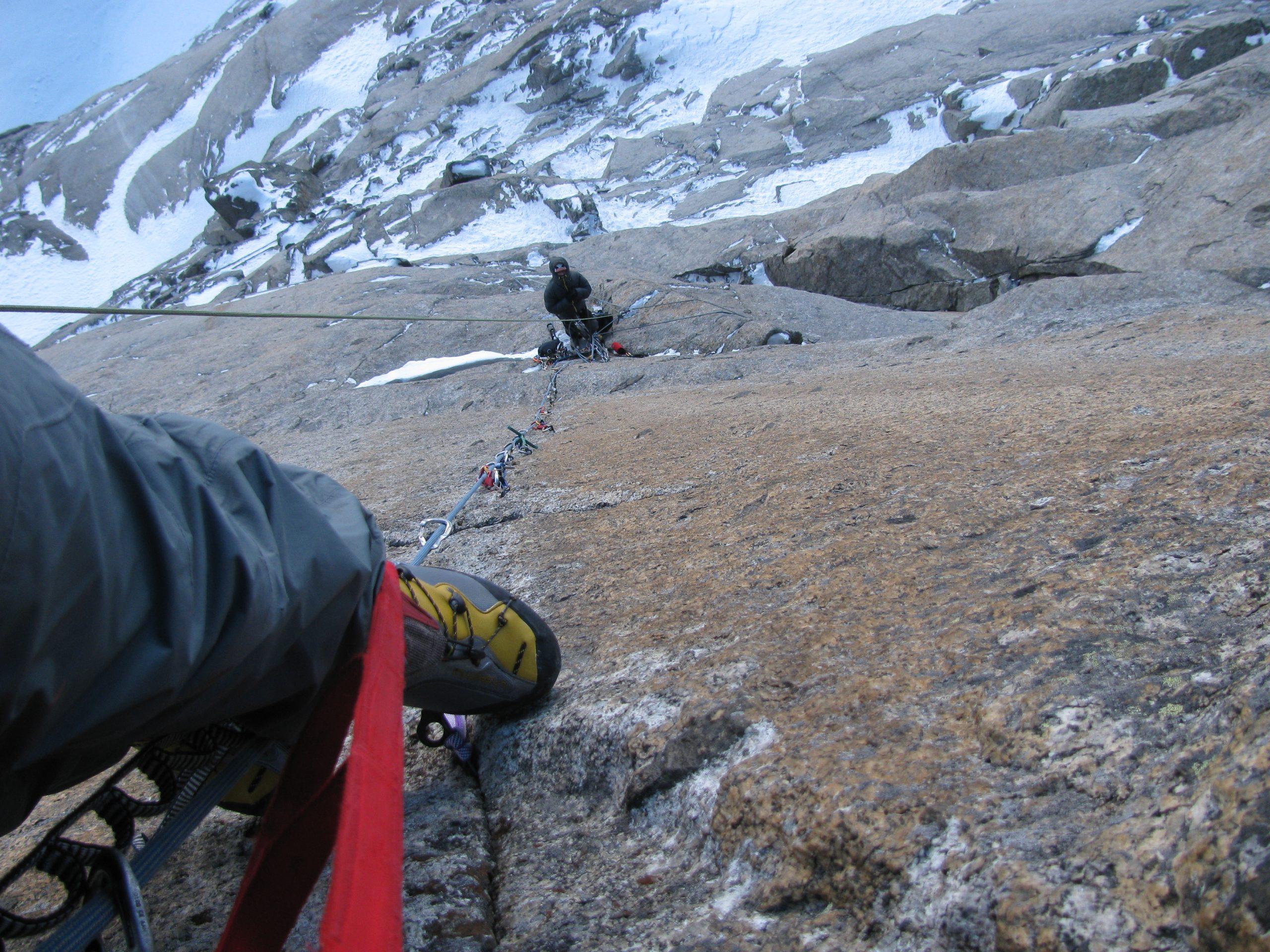 Curso de escalada artificial extremo