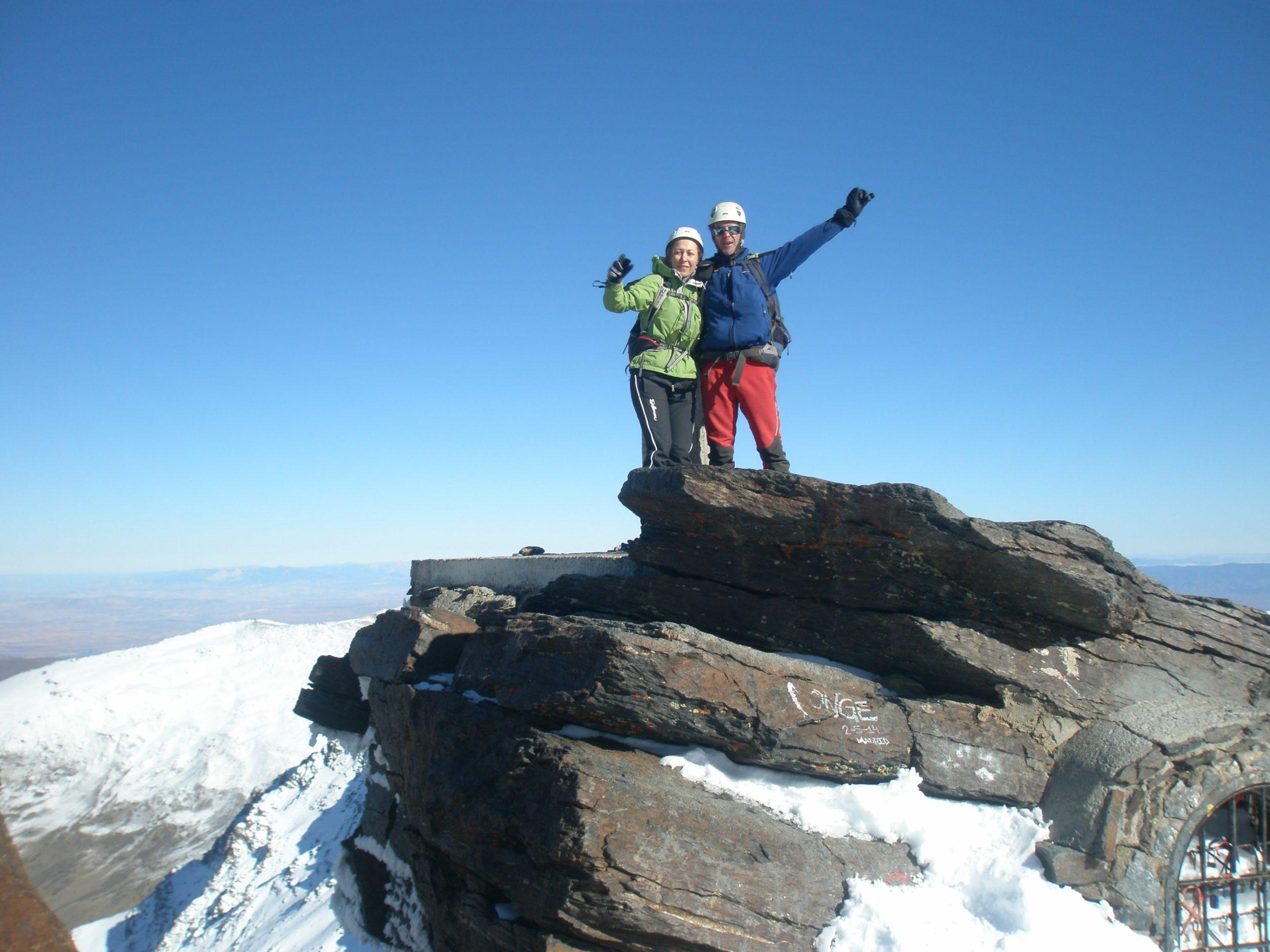 Ascensión al Mulhacén. Sierra Nevada