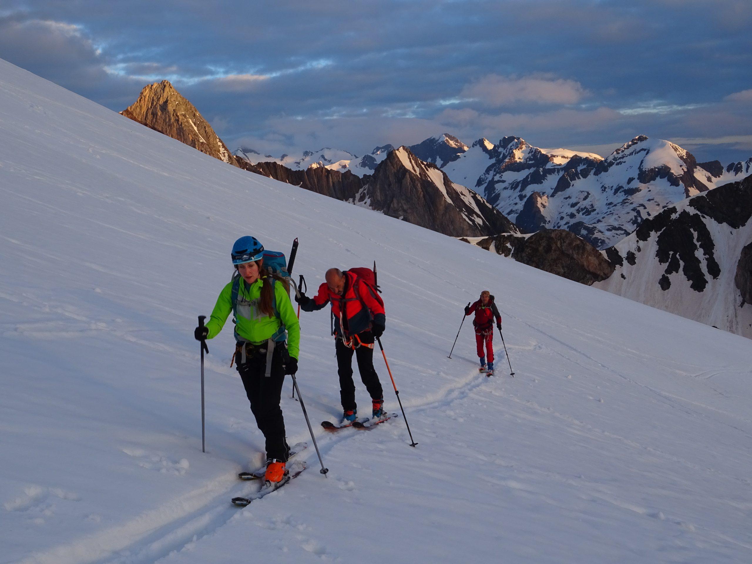 Esquí de montaña. Aneto, Alba y Paderna