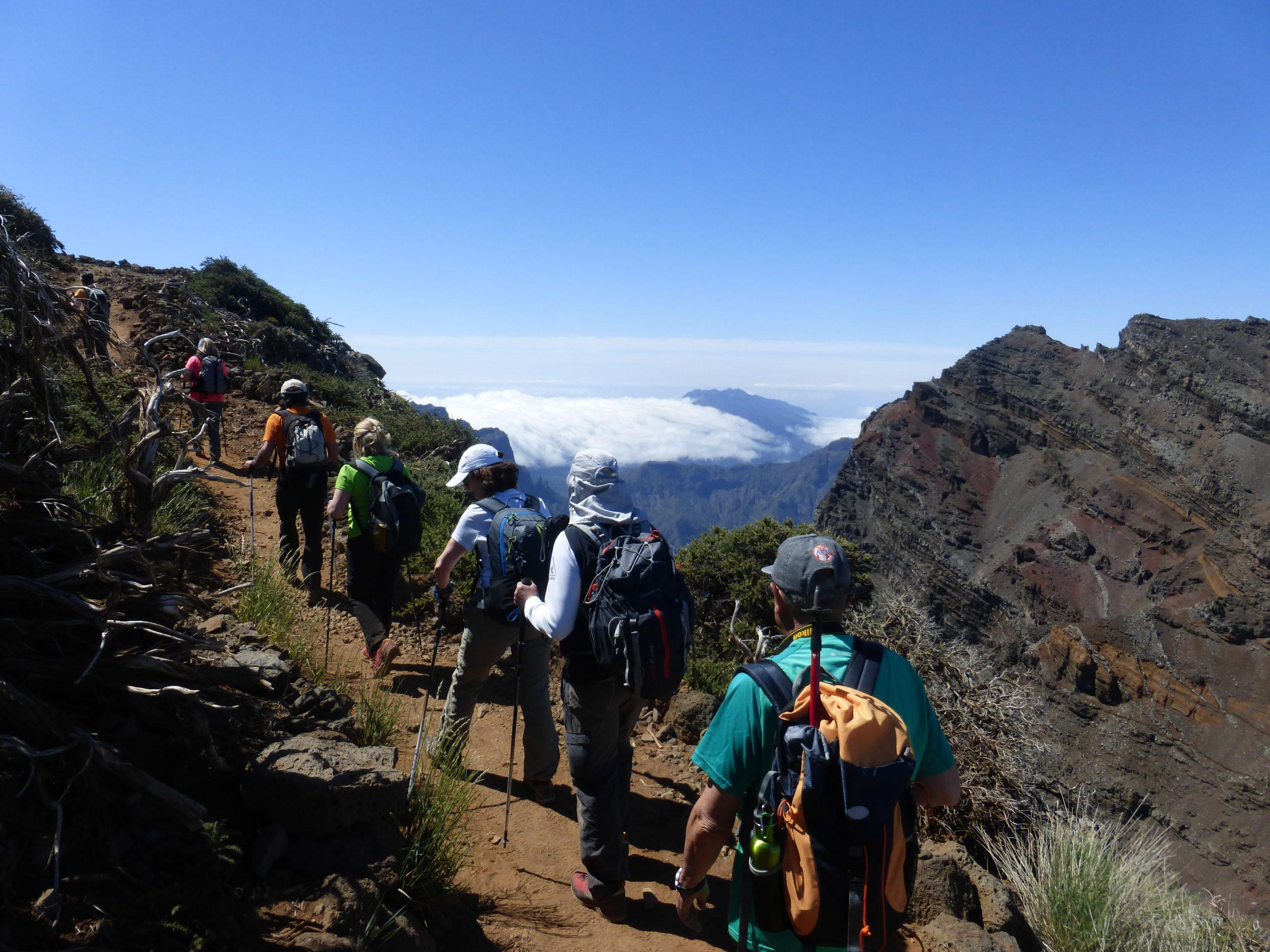 La isla de La Palma: paraíso del senderismo