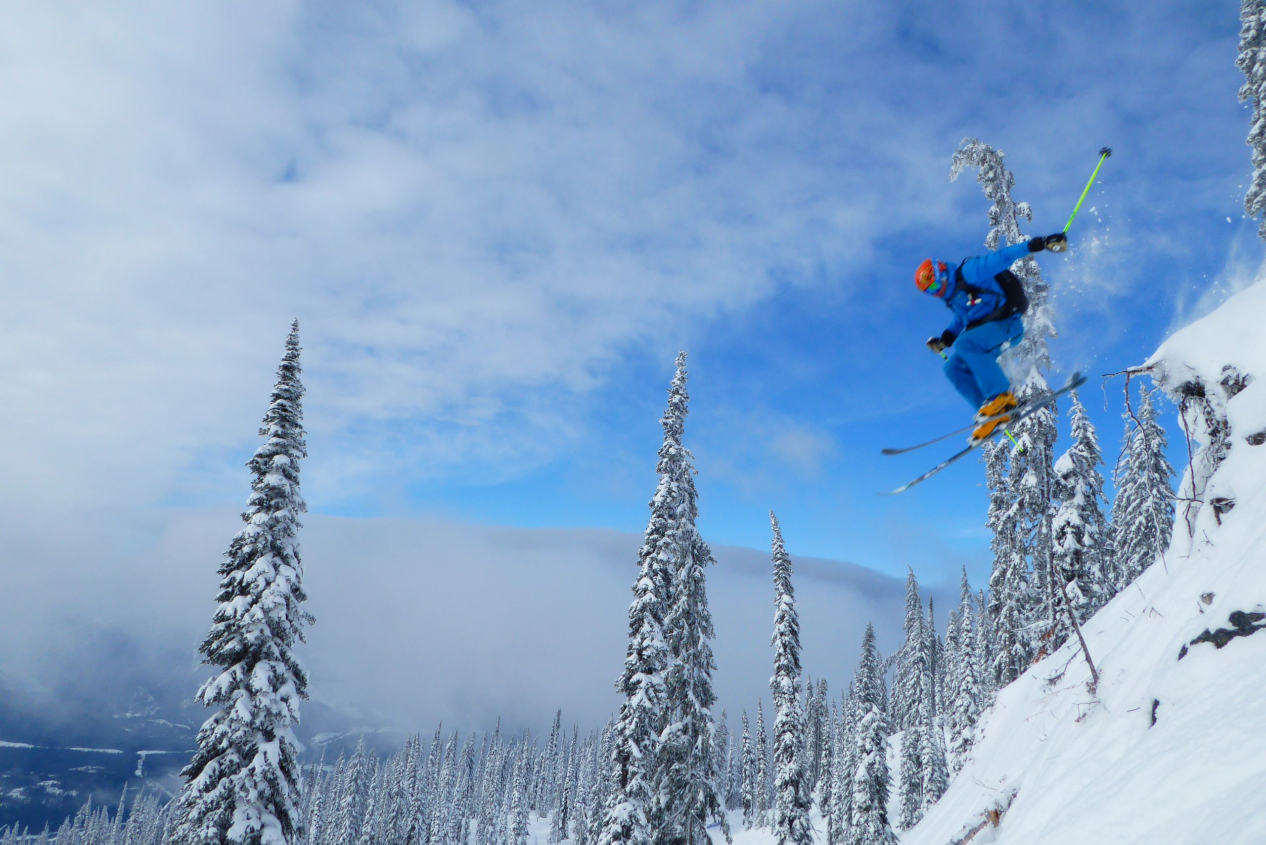 Curso esquí fuera de pista, semana en Alpes