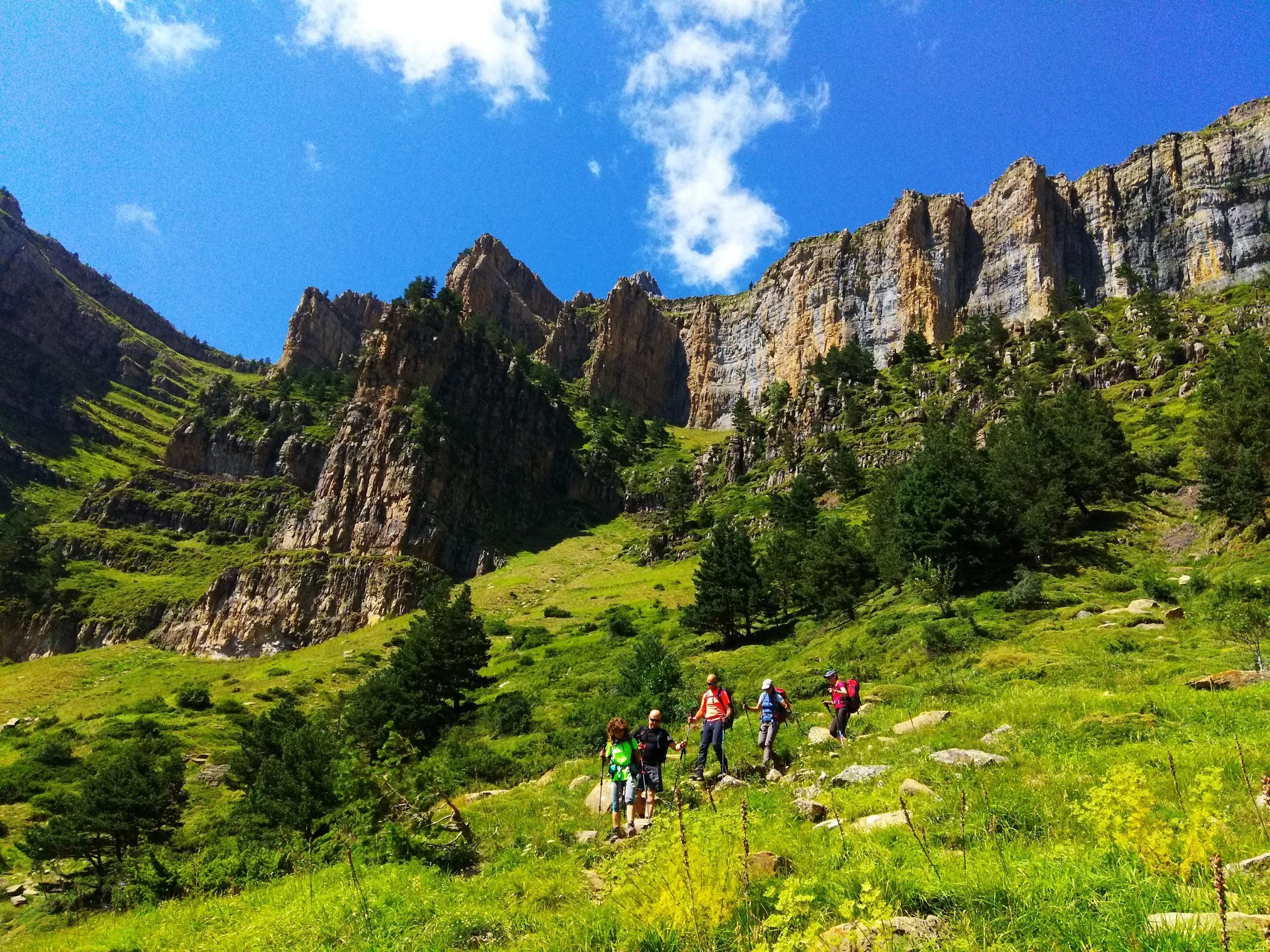 Parque Nacional de Ordesa y Monte Perdido. Bosque de Hayas y Faja de las Flores
