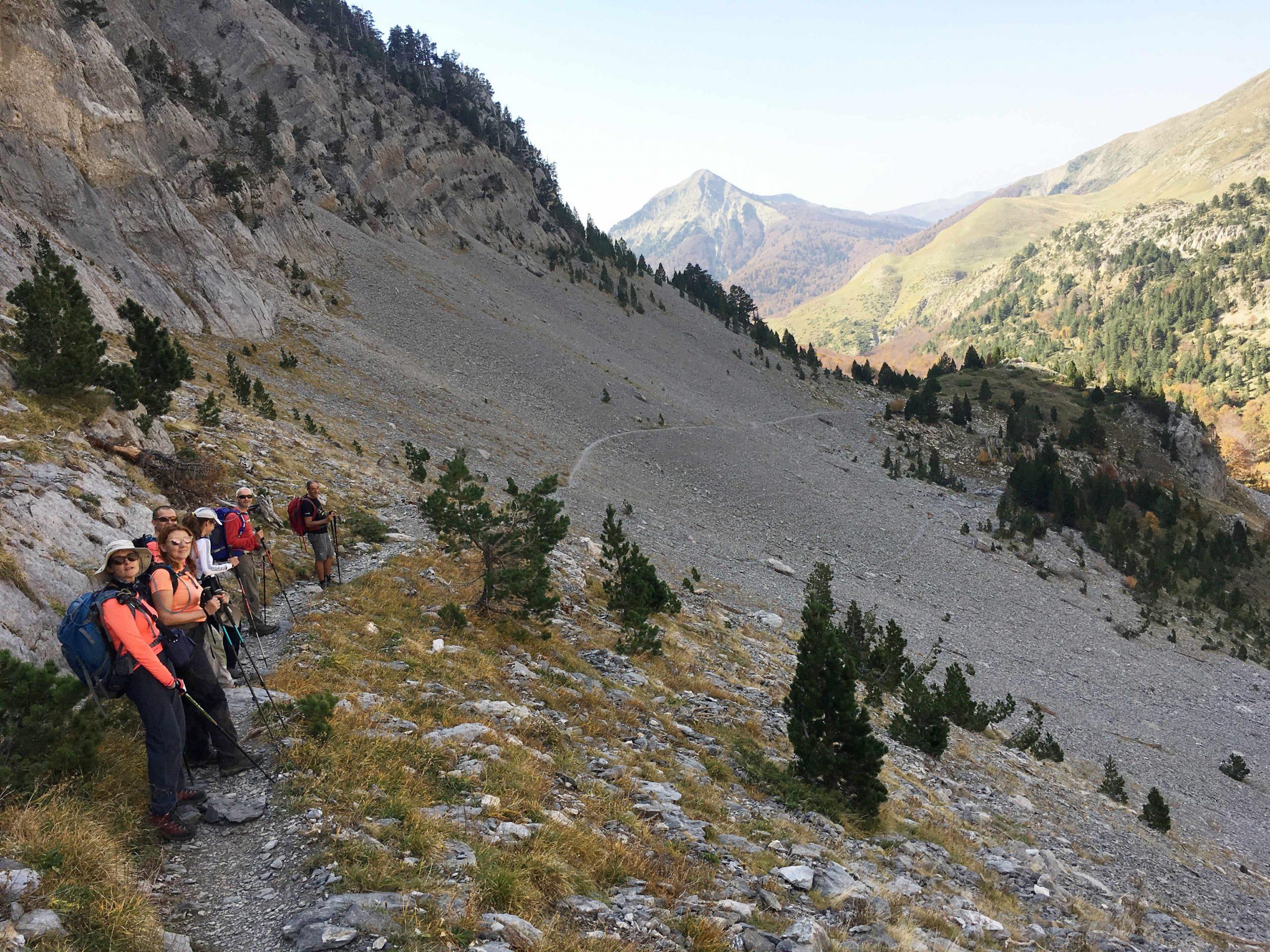 Ascensiones otoñales del Pirineo. Mesa de los Tres Reyes, Mallo d´Archerito y Peña Ezcaurri.
