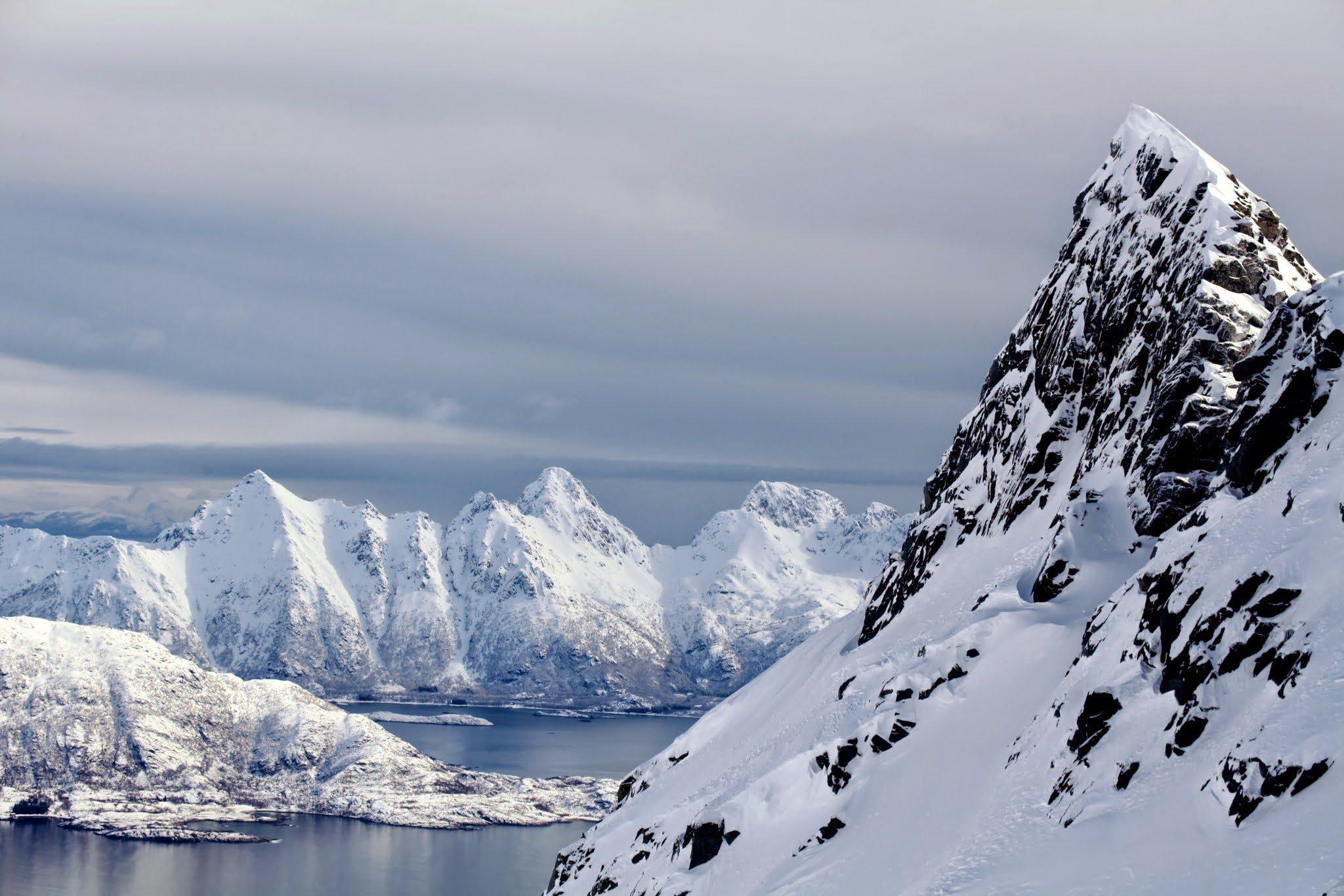 Ascensiones en las Islas Lofoten, Noruega