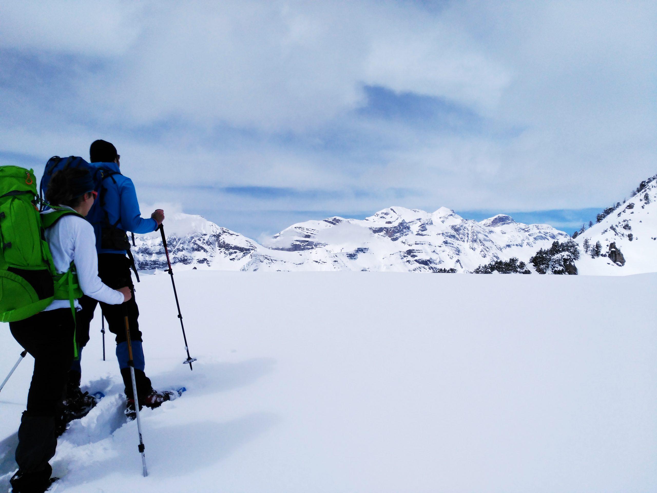 Raquetas de nieve en el corazón del Sobrarbe. Bielsa.
