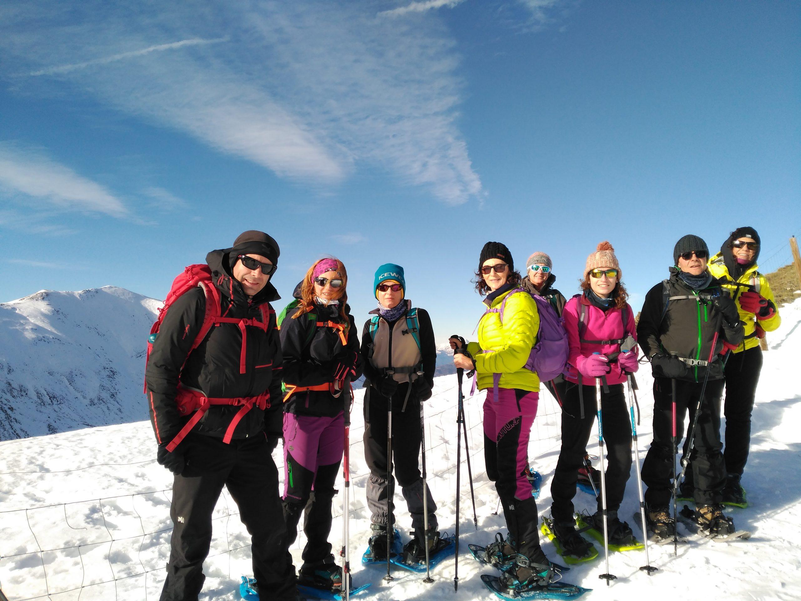 Ascensiones con raquetas de nieve en el Vall de Boí