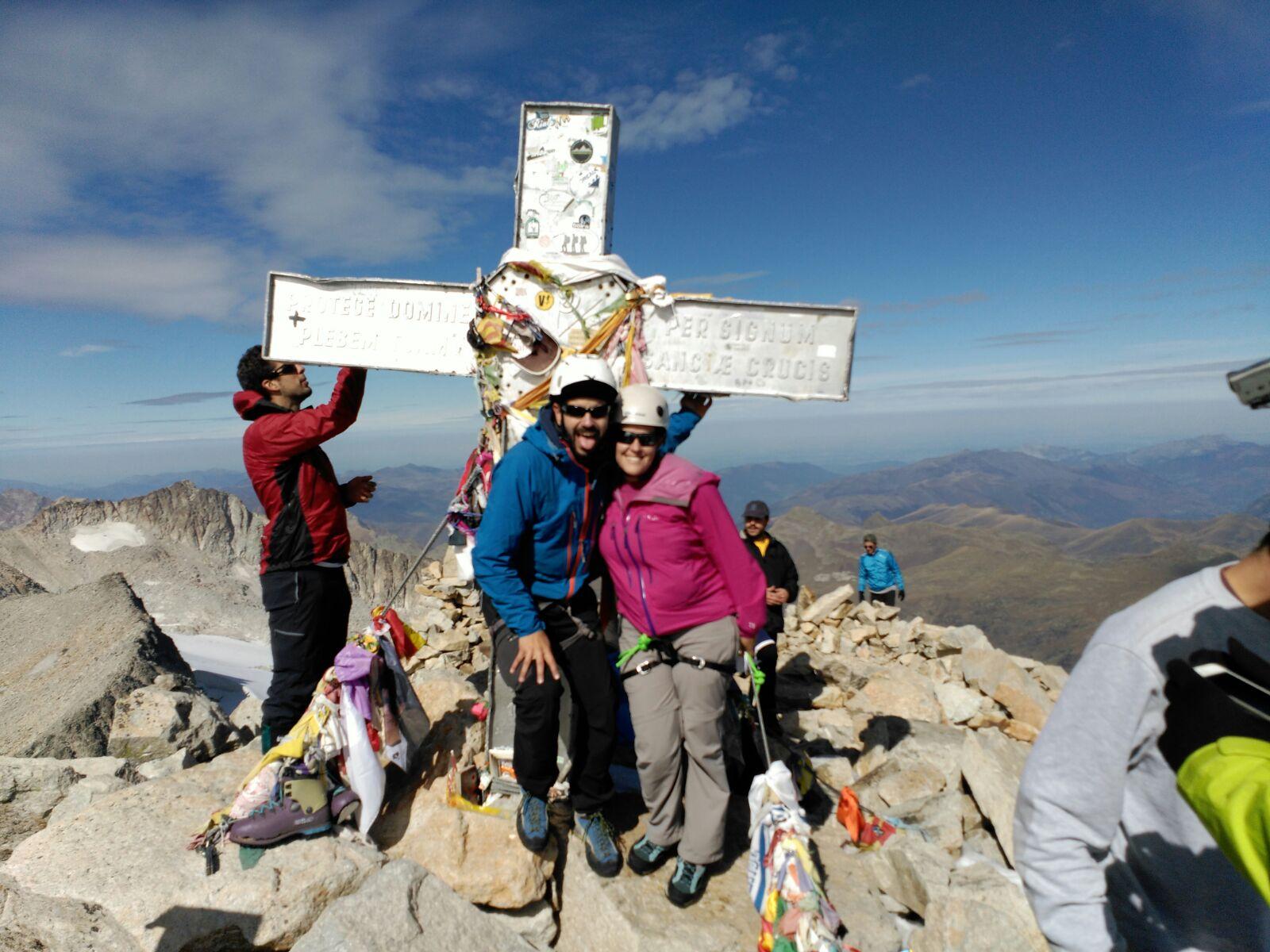 Ascenso al Aneto en el día. La cumbre más alta del PIrineo