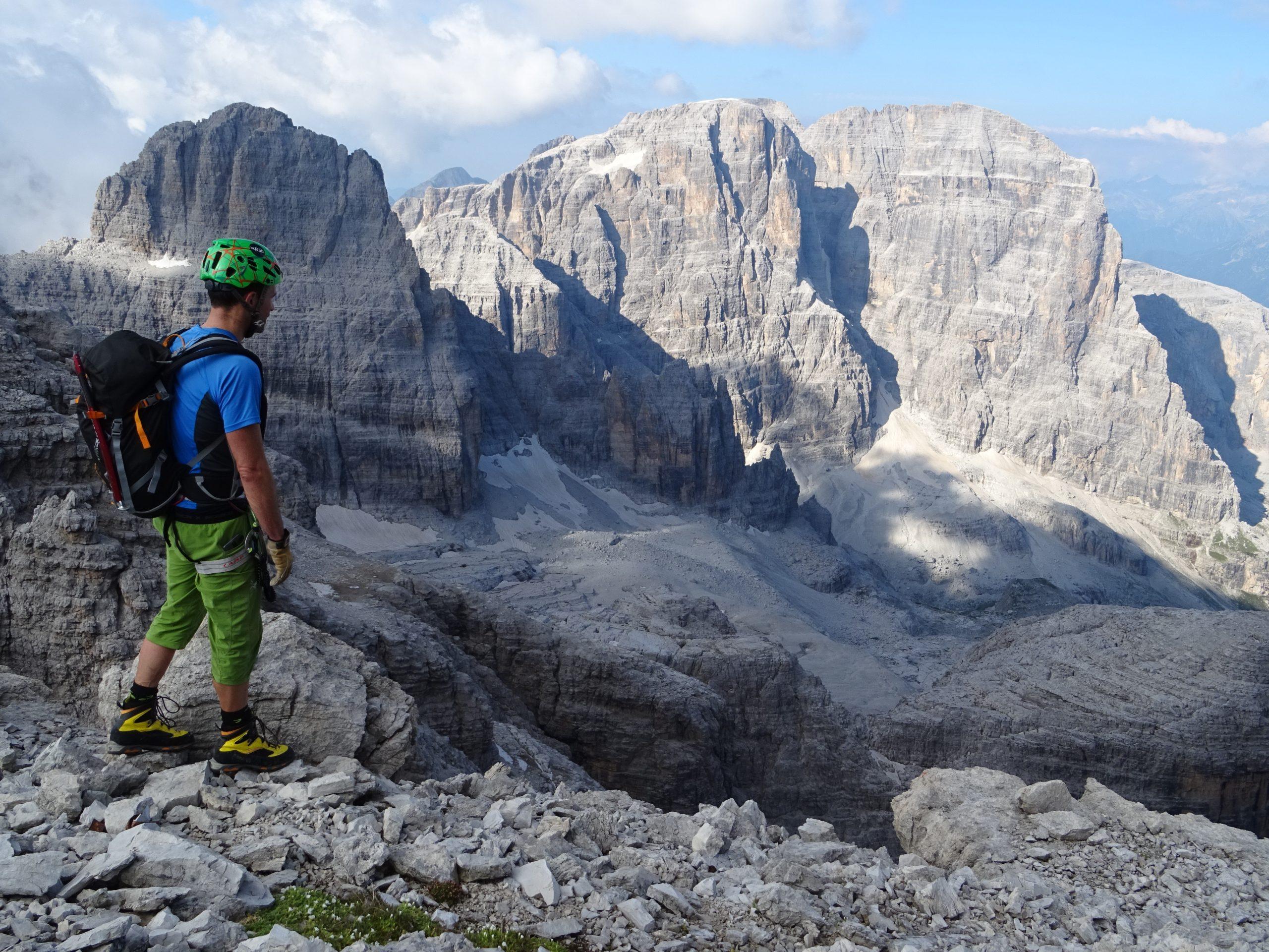 Integral de las Dolomitas de Brenta. Ferratas y trekking