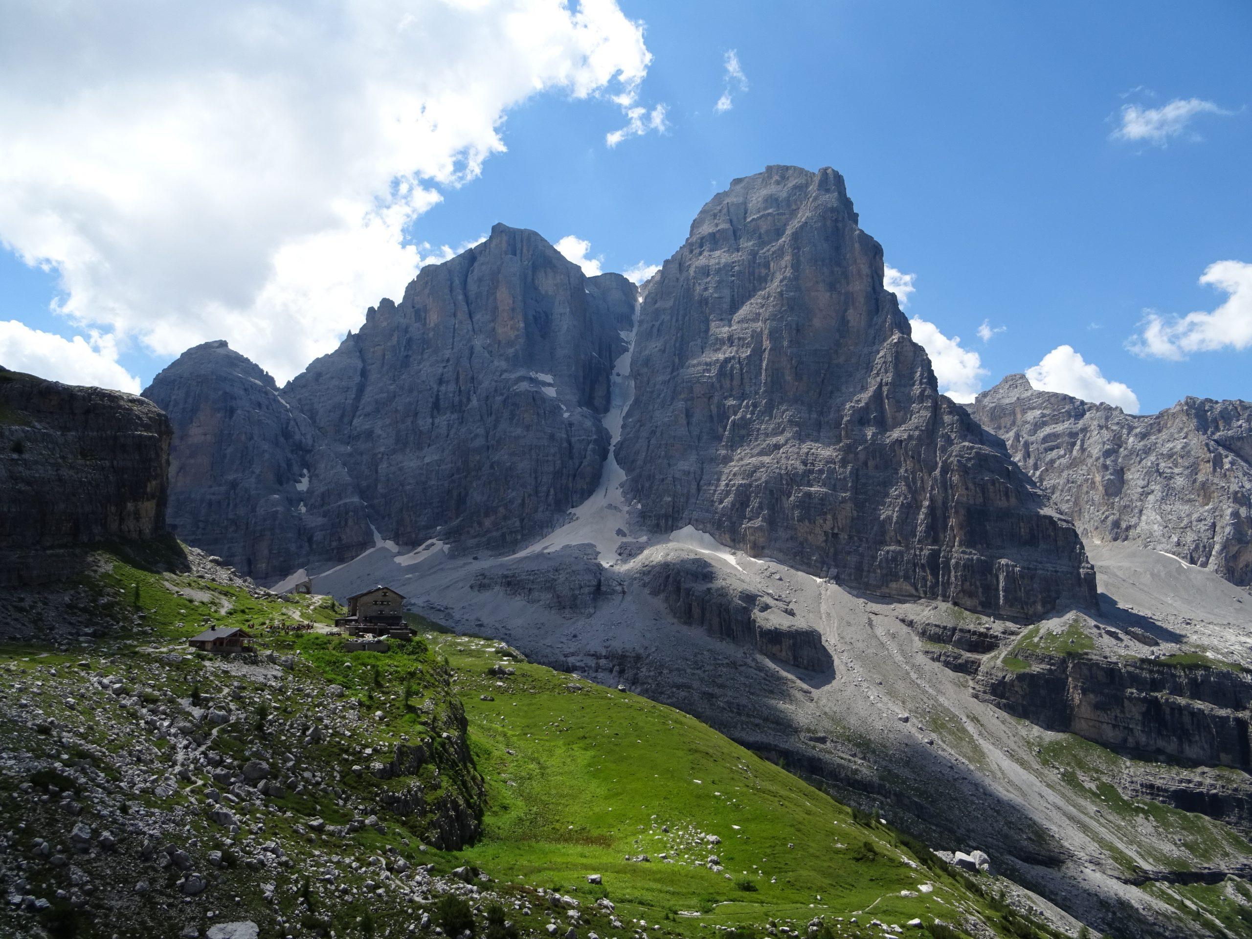 Senderismo en las Dolomitas de Brenta
