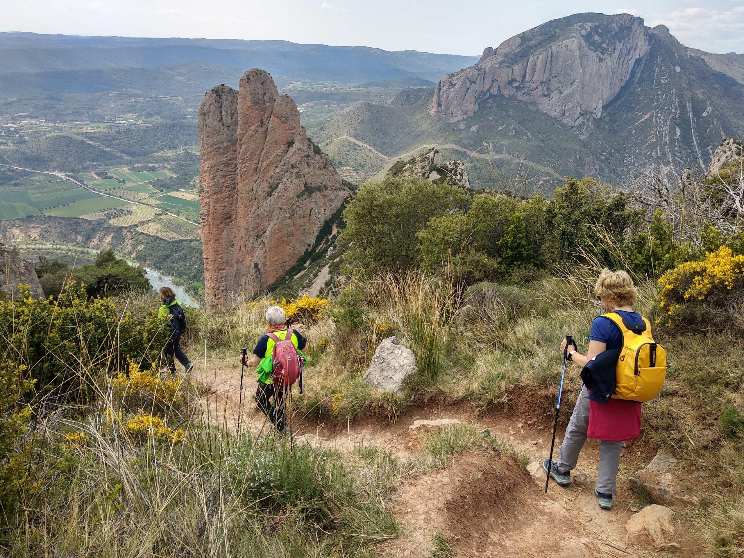 Senderismo en el Parque Natural de la Sierra de Guara y Prepirineo de Huesca. Pequeñas joyas del Prepirineo.