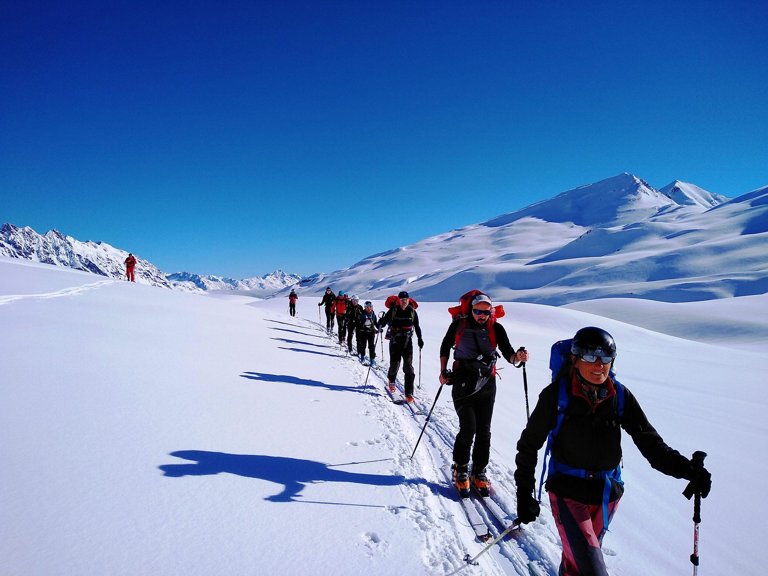 Silvretta, cuna del esquí de montaña austriaco