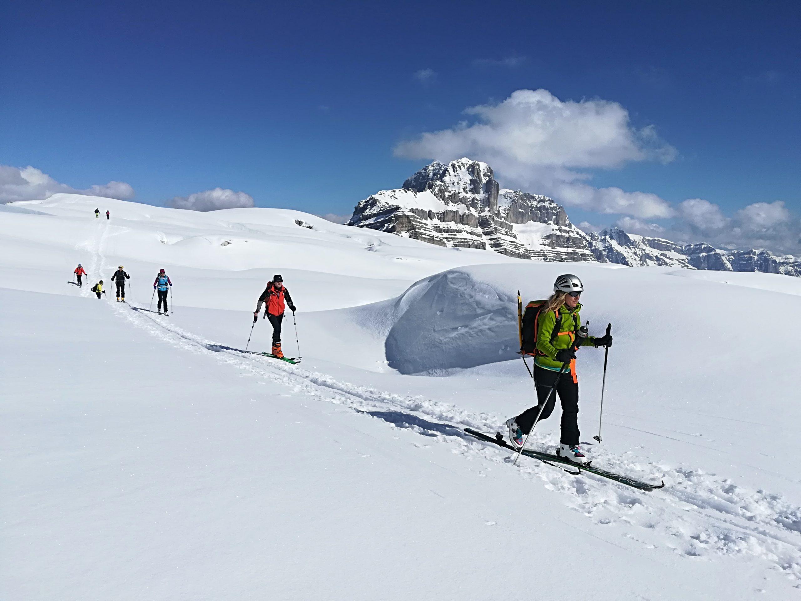 Dolomitas de Brenta y Adamello. Esquí de Montaña
