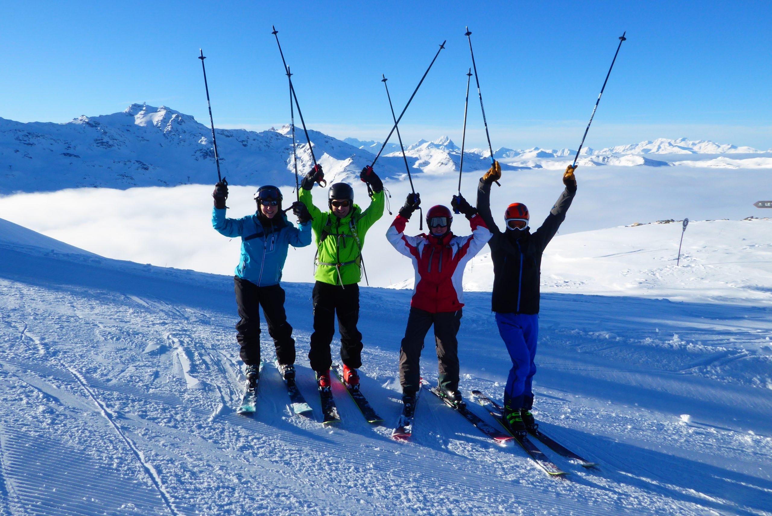 Esquí de pista y fuera pista en Tignes-Vald´Isère. Alpes Franceses