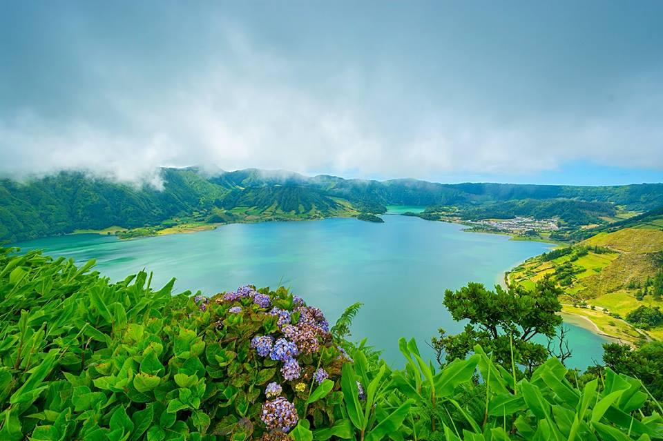 Senderismo en las Azores. Isla de São Miguel