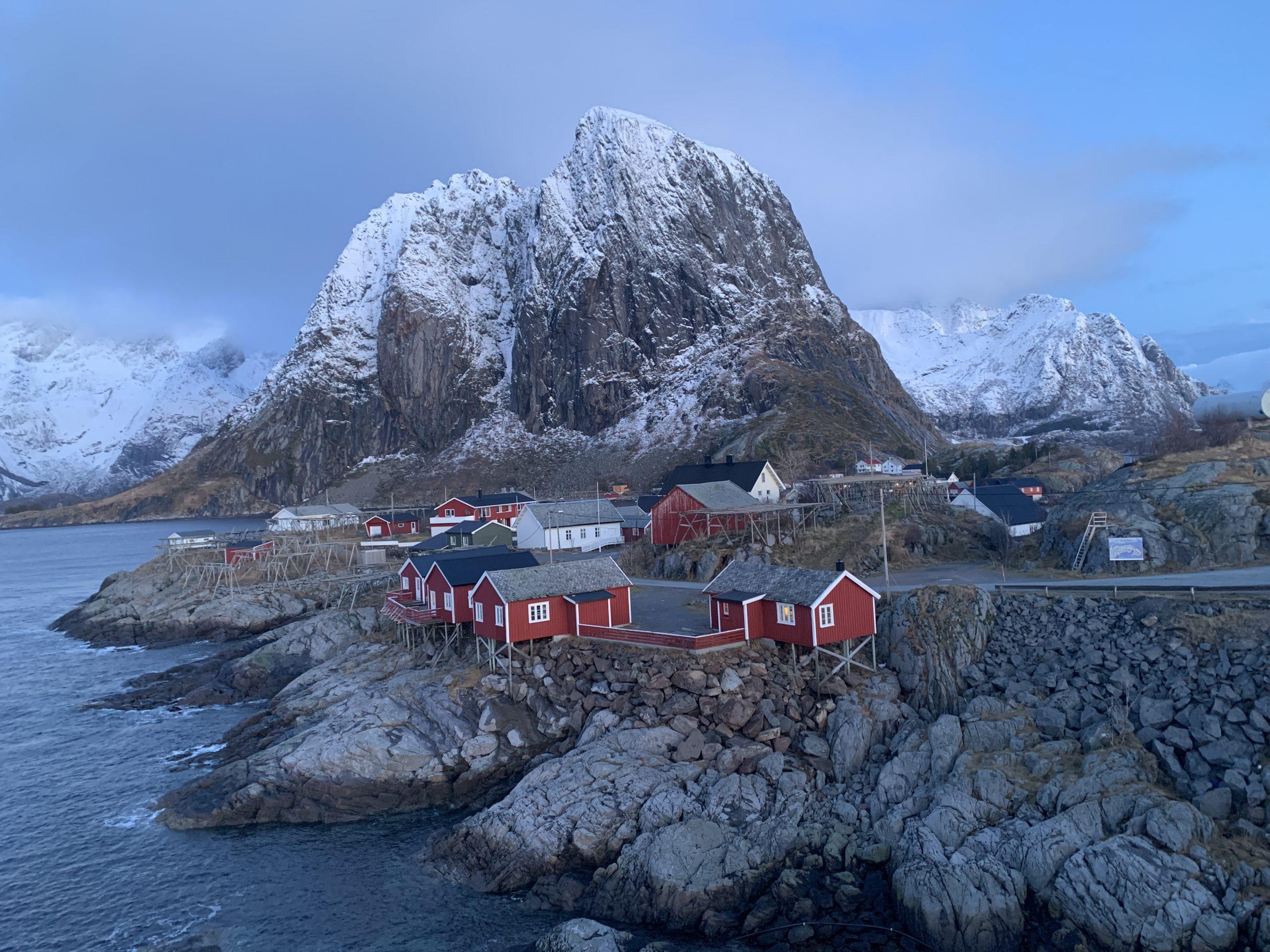 Auroras Boreales y Excursiones con Raquetas. Islas Lofoten, Noruega