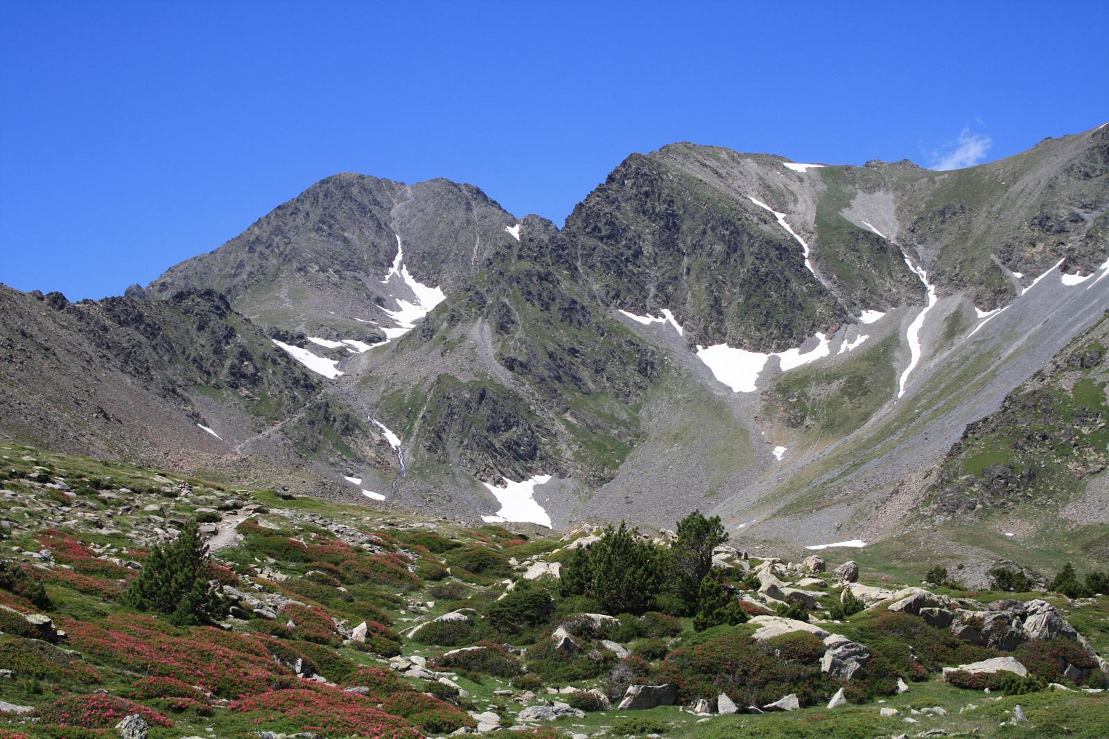 Ascensiones en la Cerdaña. Puigpedrós, Carlit, Puigmal y Pedraforca