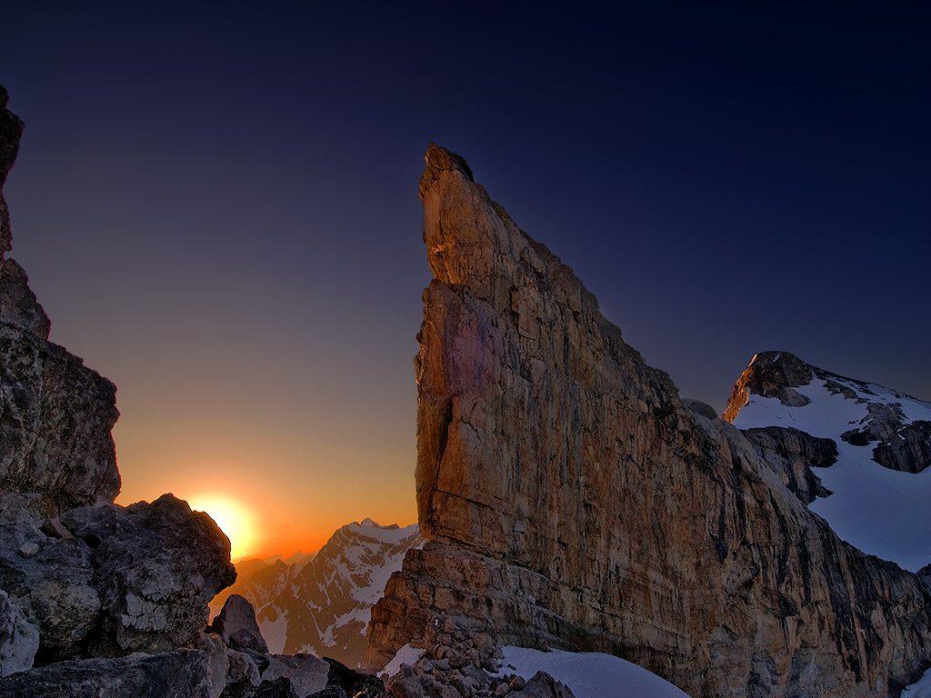 Vivac en la Brecha de Rolando. Pirineo Aragonés