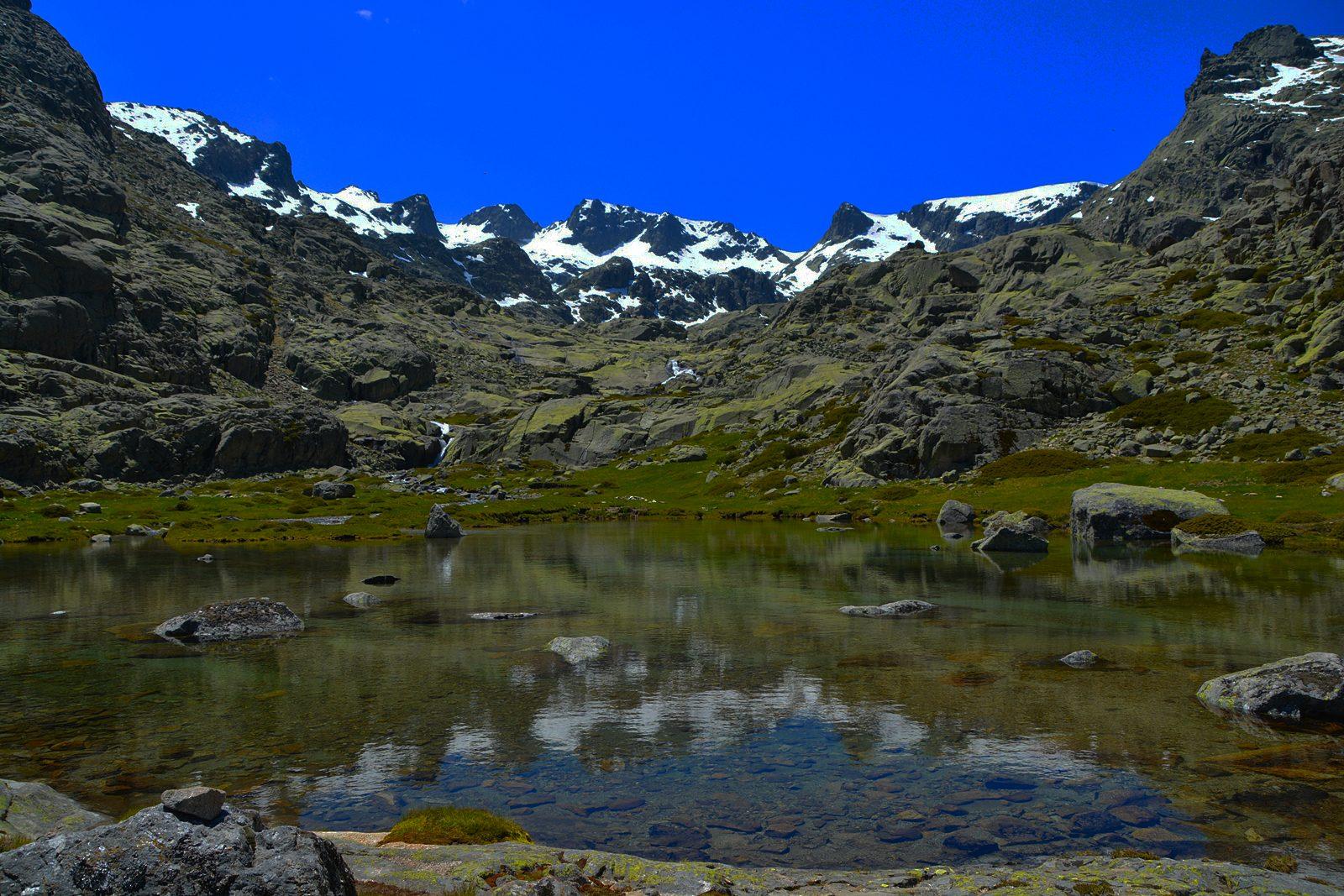 Vivac en las Cinco Lagunas. Sierra de Gredos