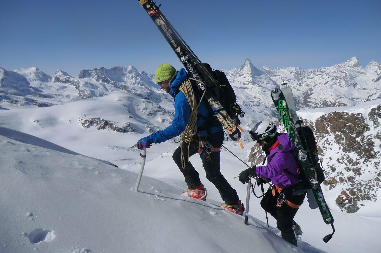 Travesía Saas Fee-Monte Rosa-Zermatt. Esquí de montaña