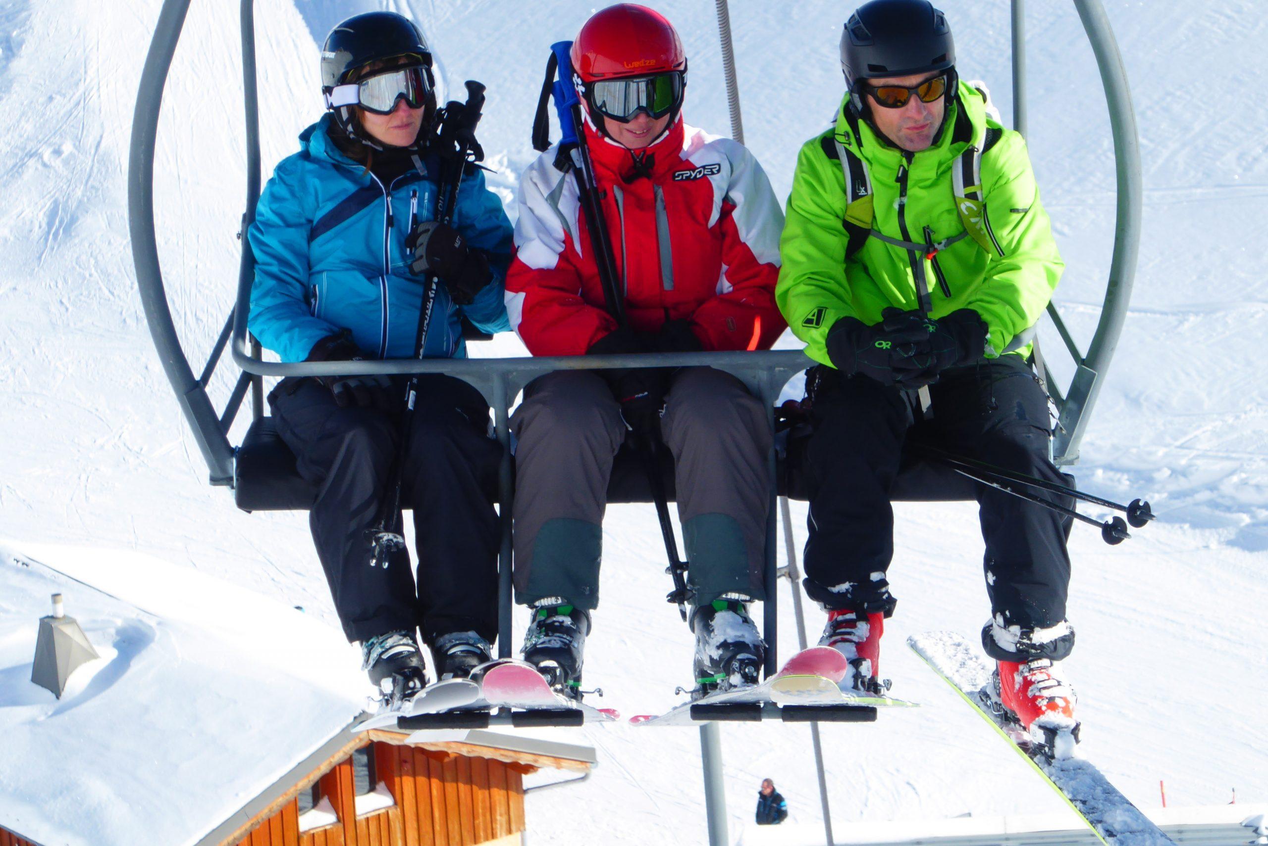 Esquí de pista y fuera pista en Baqueira Beret. Pirineos