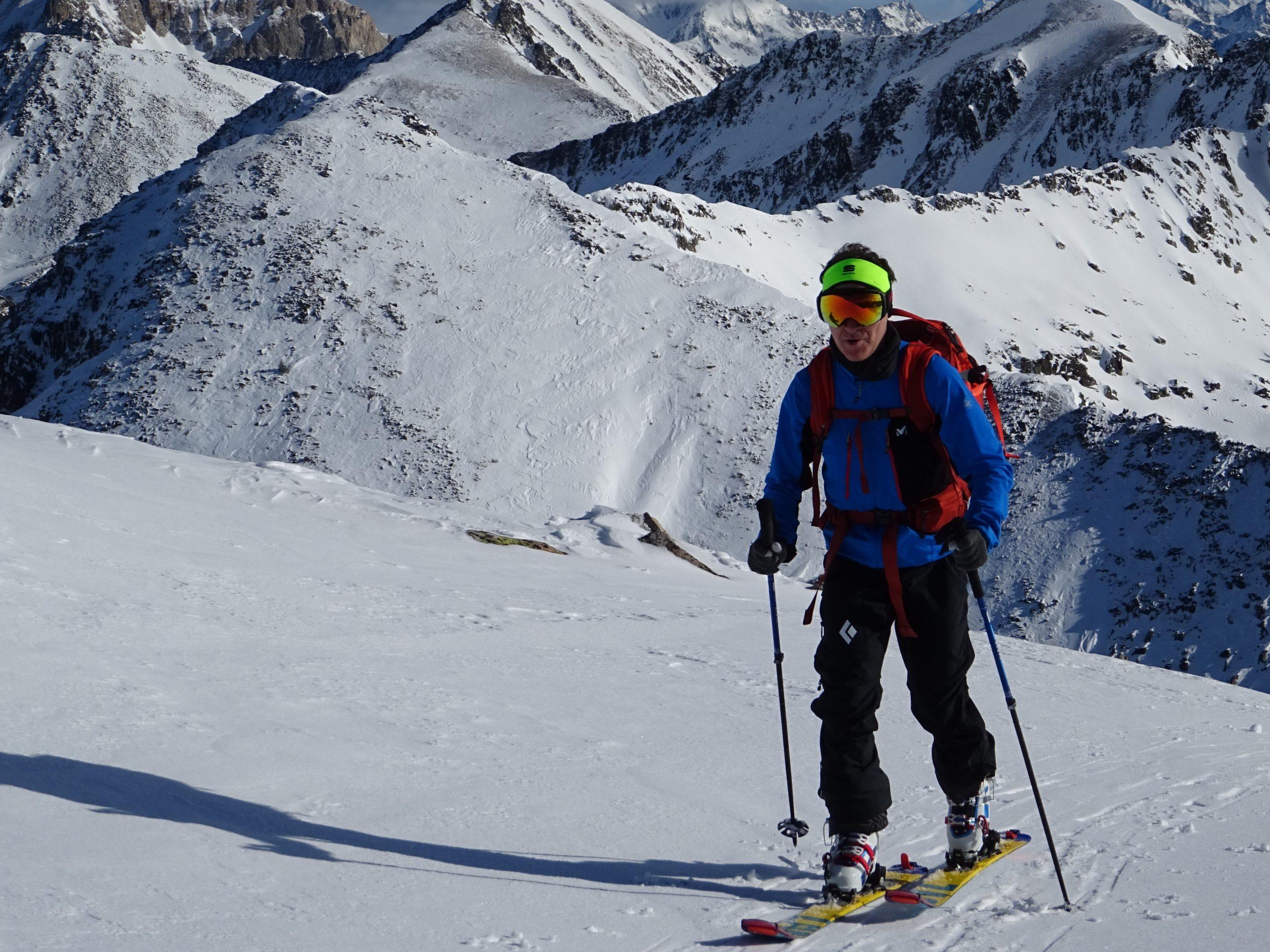 Esquí de montaña en el Valle de Arán. Tres días de ascensiones.