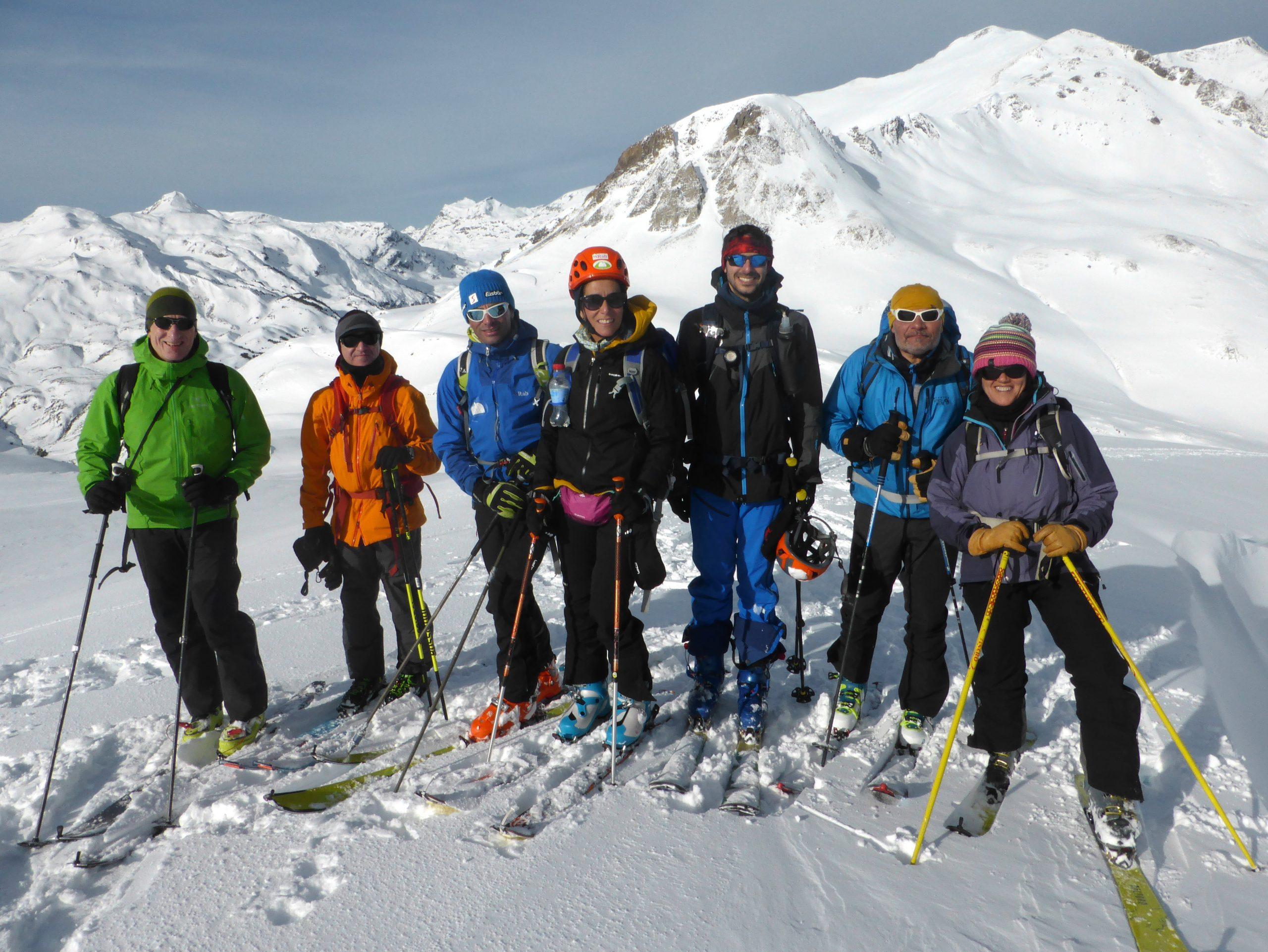 Curso completo de esquí de montaña. Valle de Arán